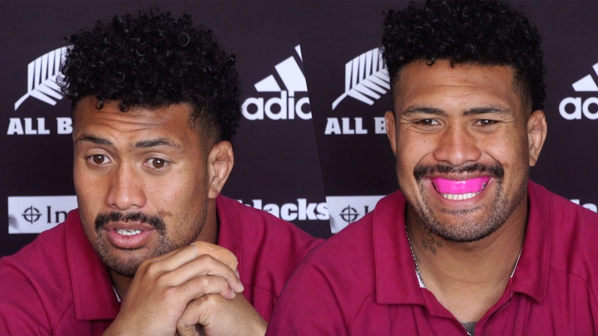 Ardie Savea finally addresses 'gumshield gate' in bizarre press conference moment