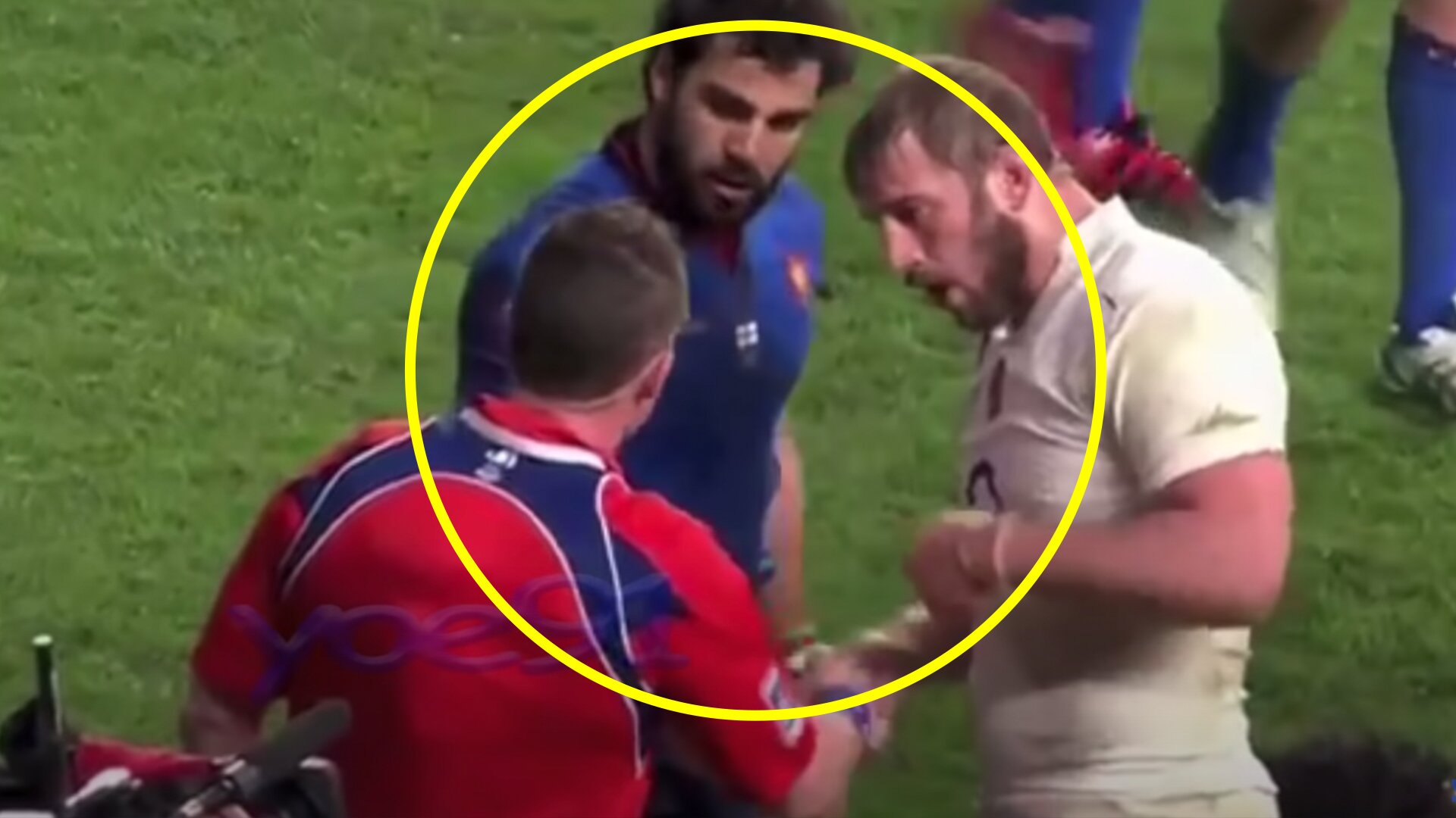New video shows the very best and worst of French rugby star Yoann Huget as he announces retirement