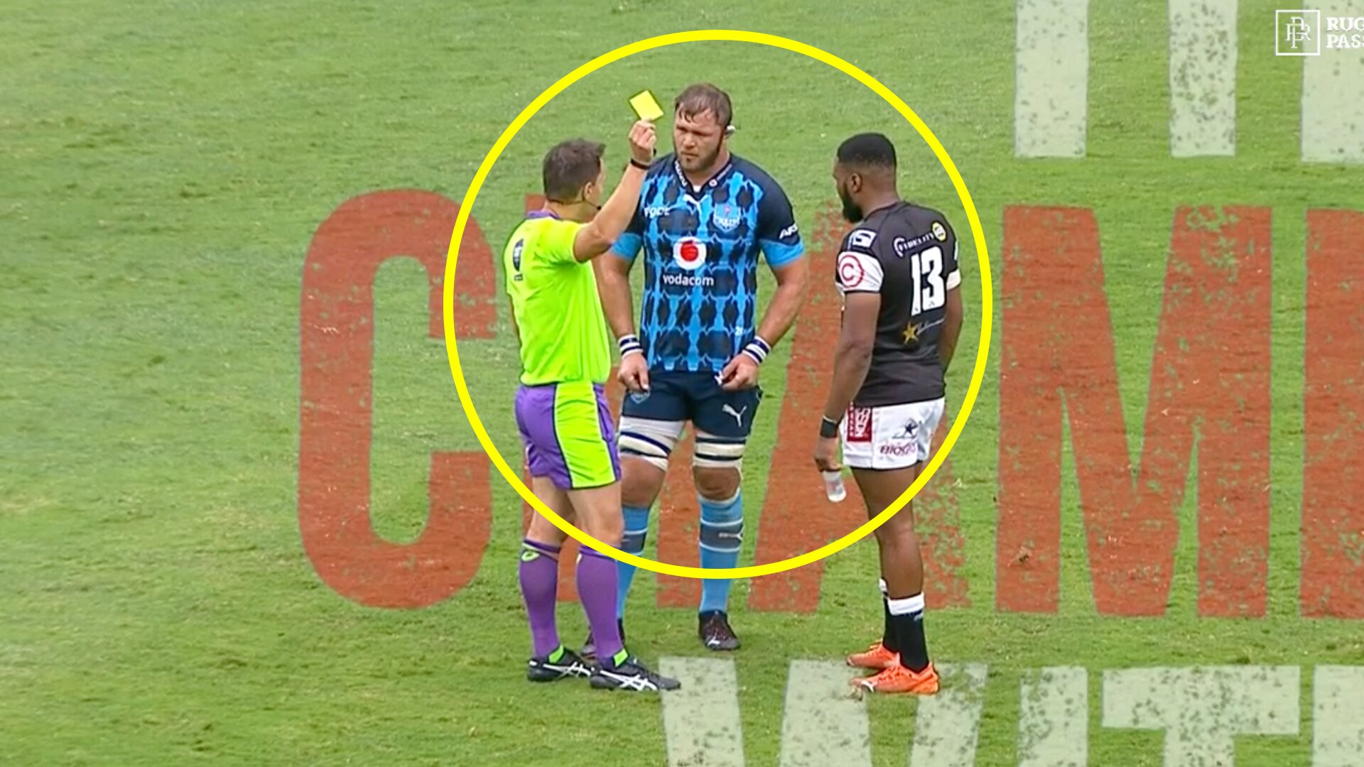 Duane Vermeulen in hot water after 'insensitive' joke to ref sparks outrage online