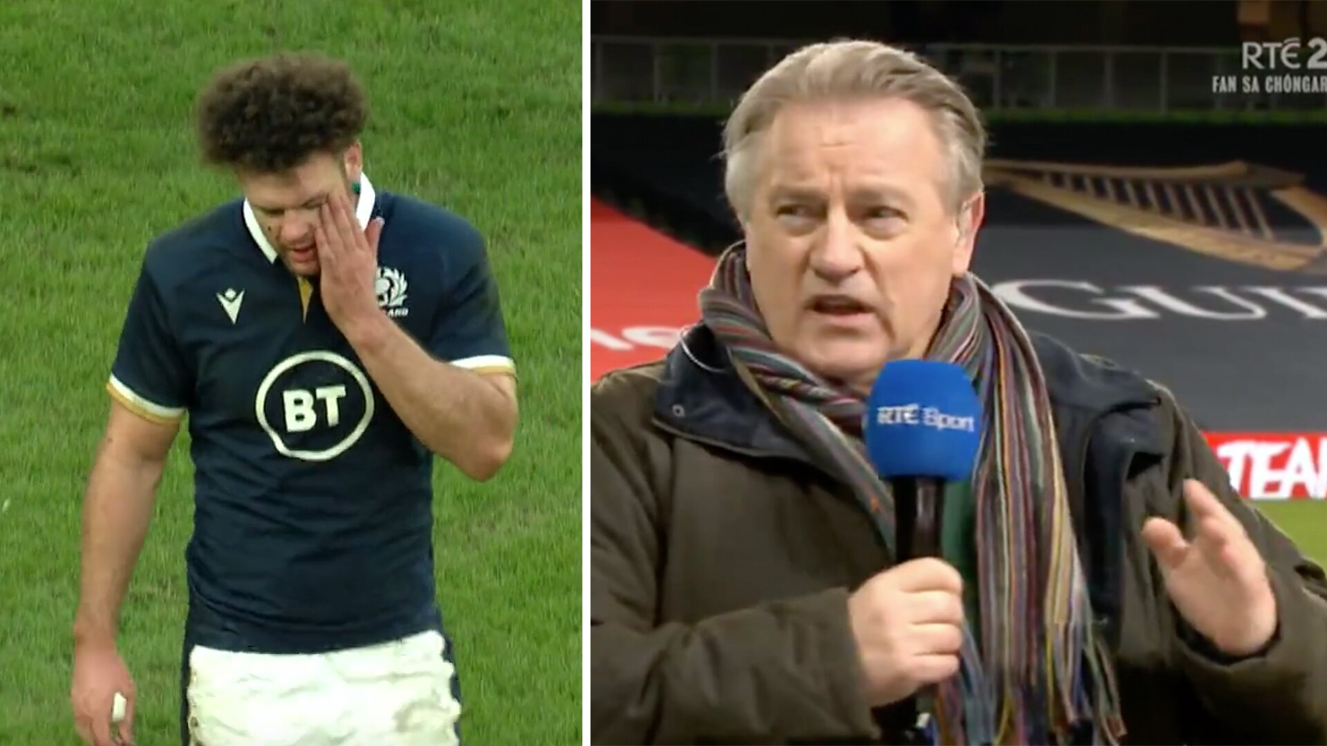 Fans praising Eddie O'Sullivan for savagely calling Scotland rugby 'delusional' in post match comments