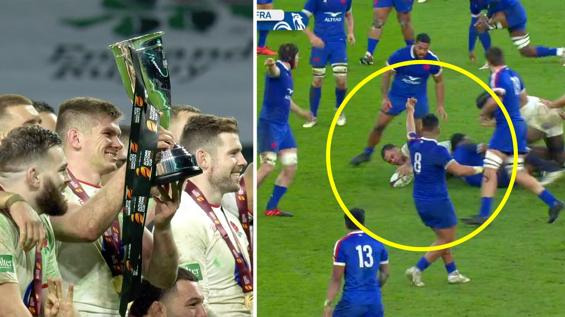 Proof that France were cheated out of the Autumn Nations Cup final against England