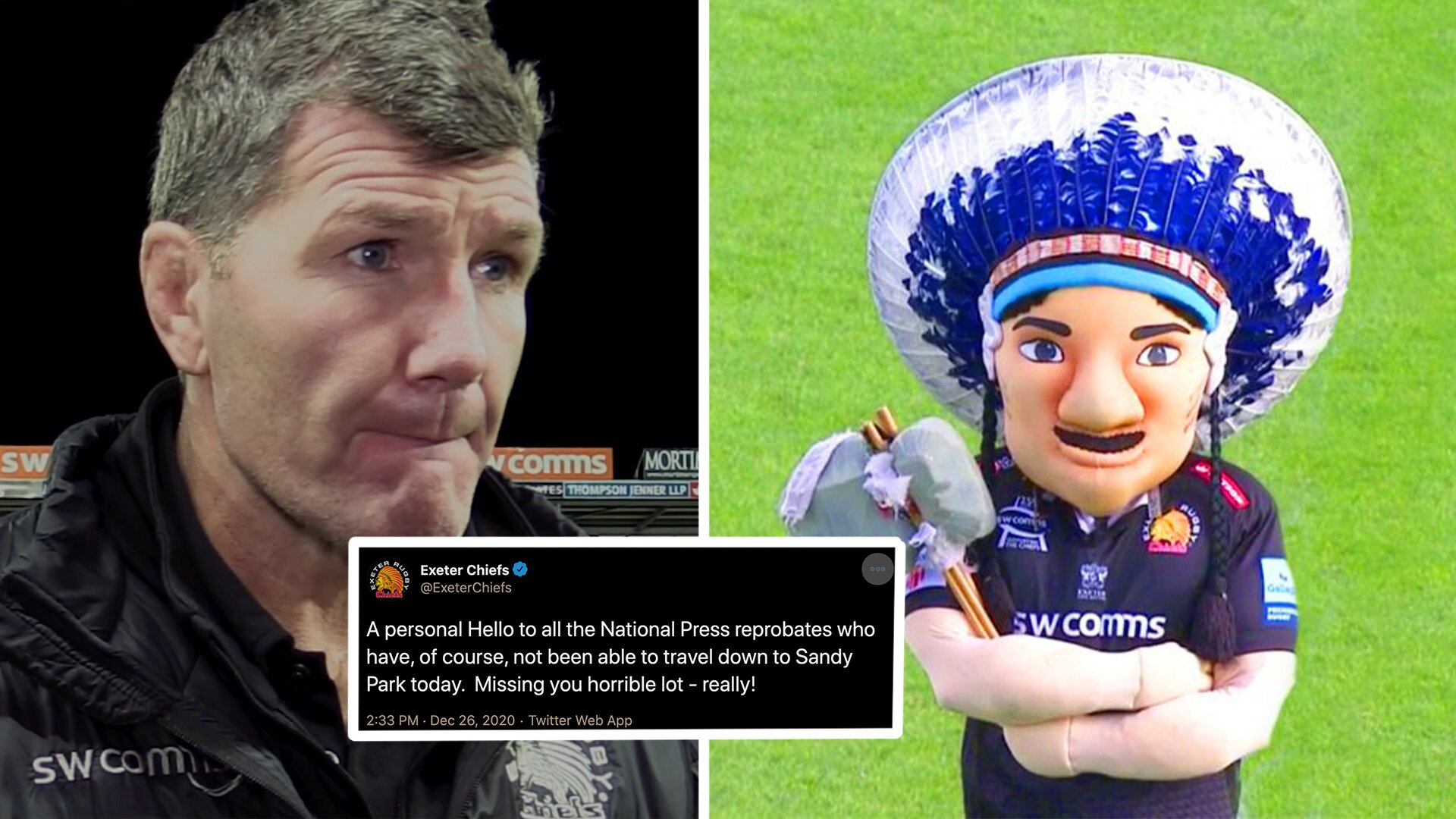 Exeter Chiefs media sends astonishing attack on press as they are banned from Sandy Park stadium