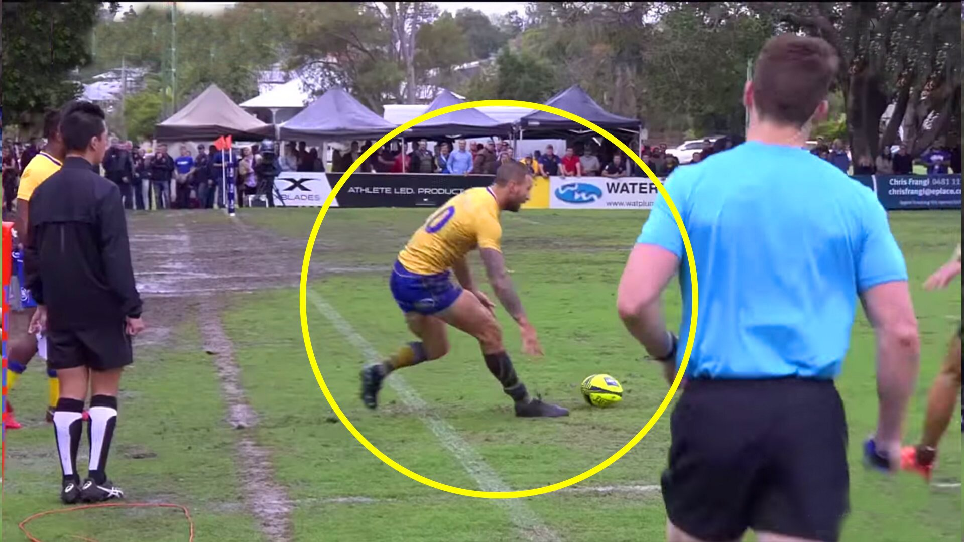 Quade Cooper didn't give players a chance when he briefly played semi pro rugby