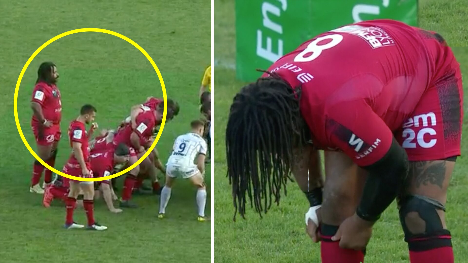 Mathieu Bastareaud has fully transitioned into a Number 8 and the results are terrifying
