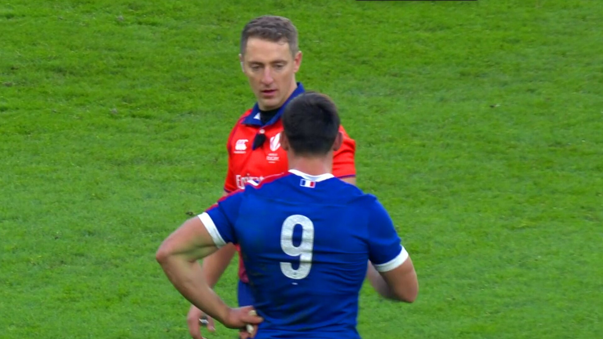 Autumn Nations final referee receiving storm of abuse from angry French fans on social media