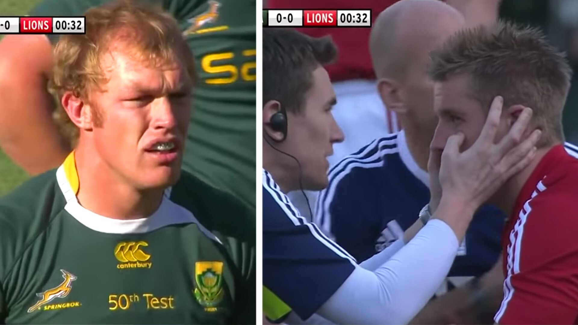 Haunting Schalk Burger 'Biggest Thugs' video shows just how frenzied the Springbok player was