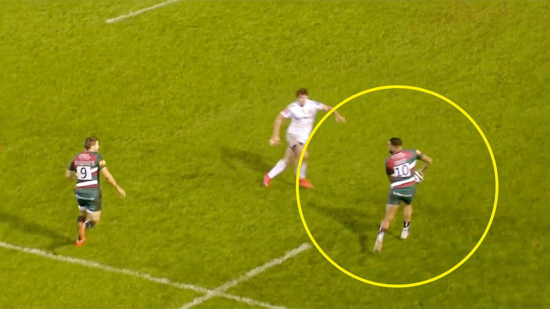 Leicester Tigers inexplicably butcher try in shocking Premiership balls-up