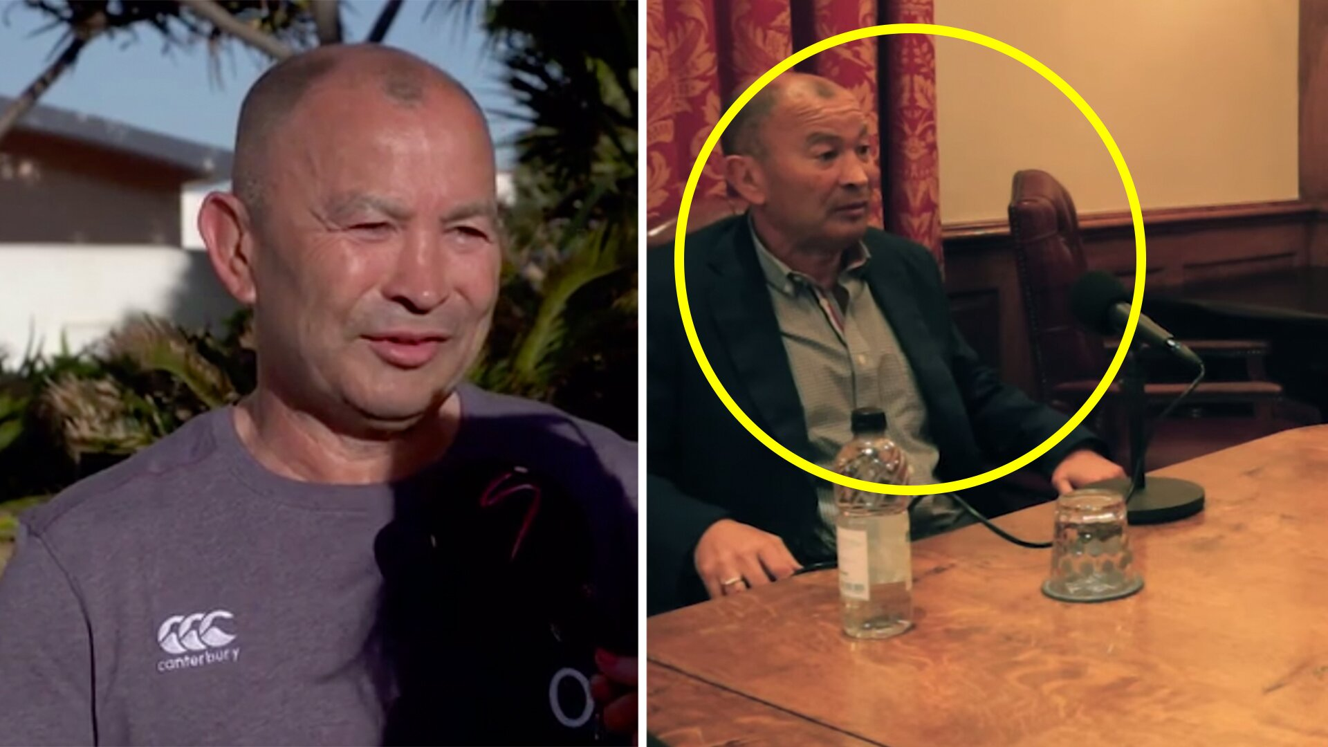 Eddie Jones reveals the only time he properly lost it in an England rugby press conference