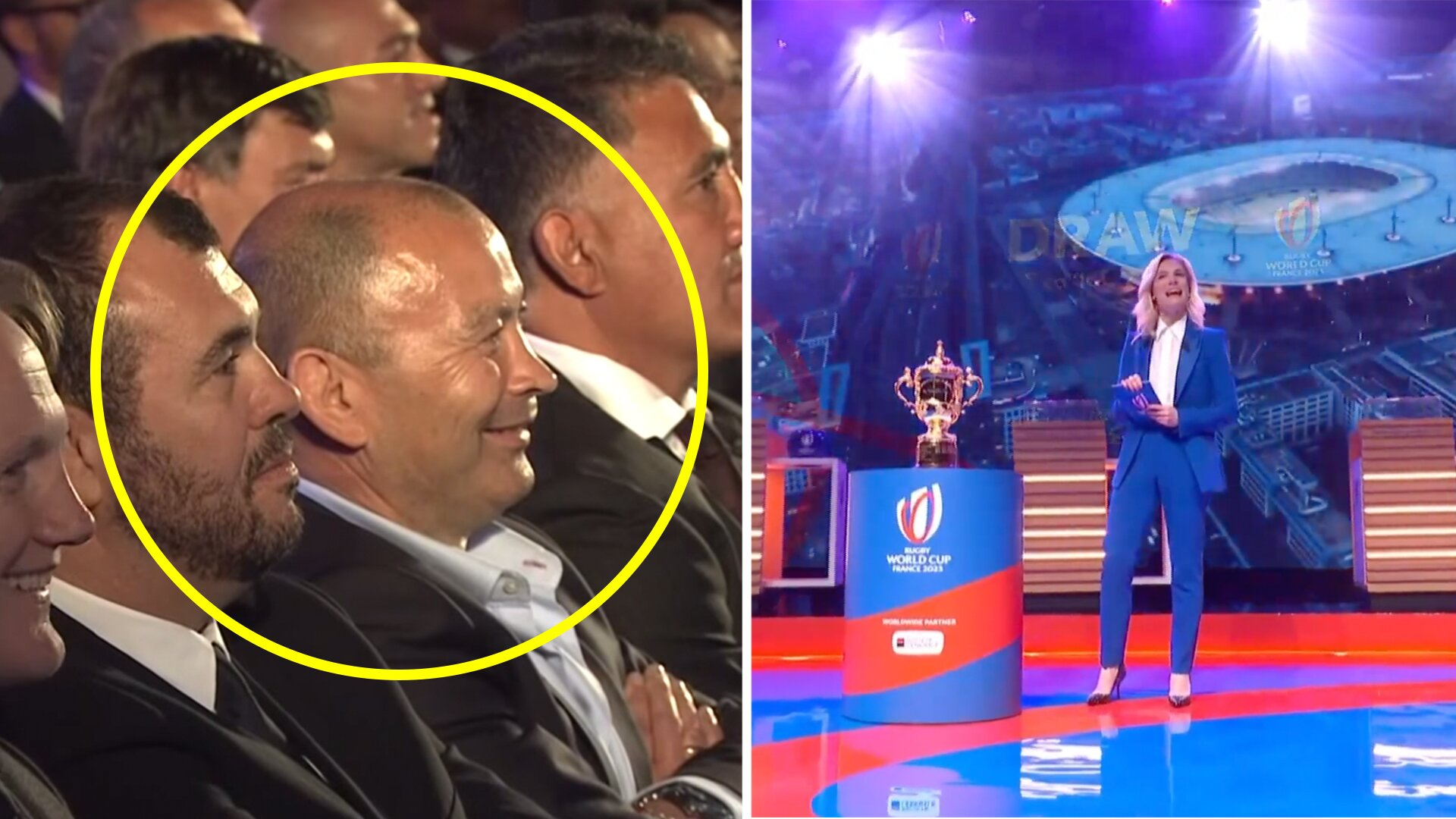 The reactions to the crazy 2023 Rugby World Cup draw