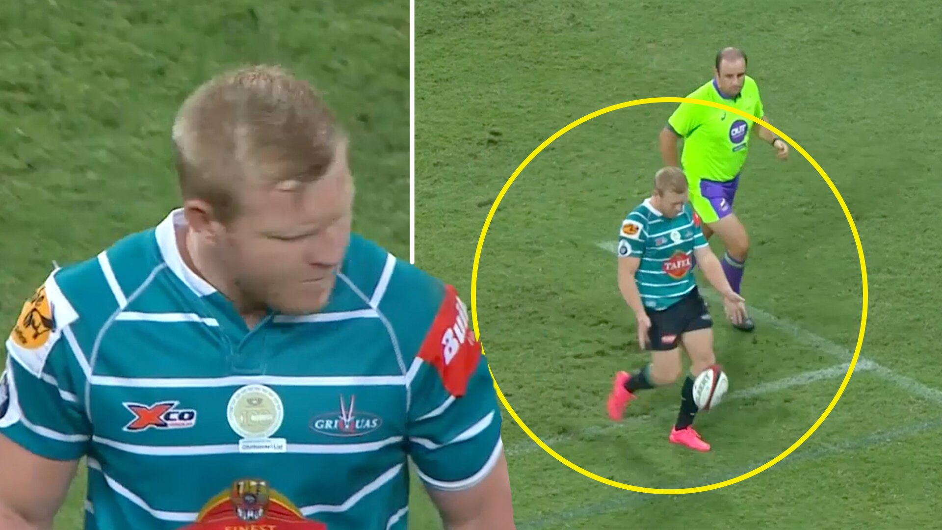 Yesterday's Currie Cup match throws up shocking contender for worst kick of all time