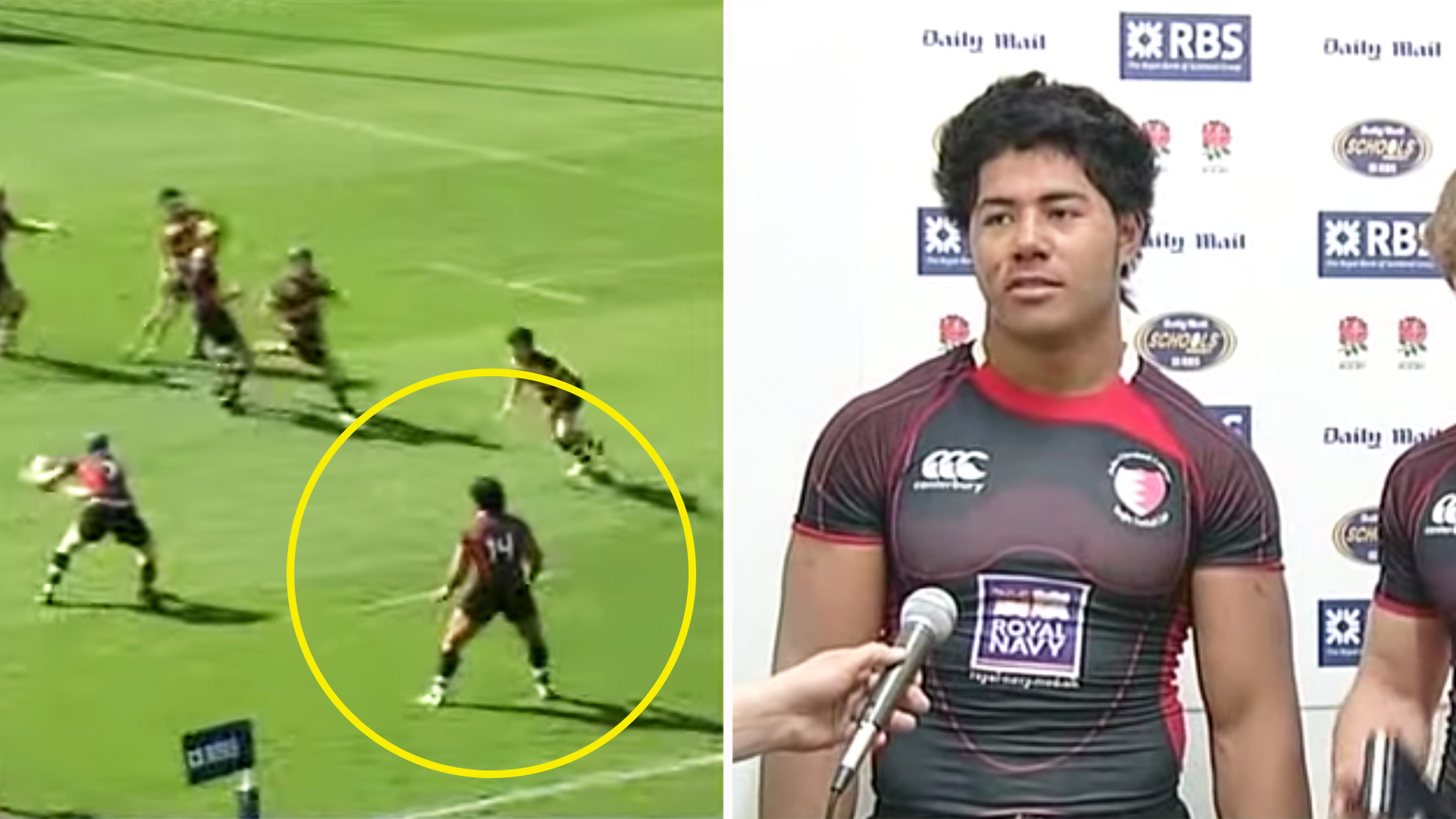 Manu Tuilagi should never have been allowed to play schoolboy rugby