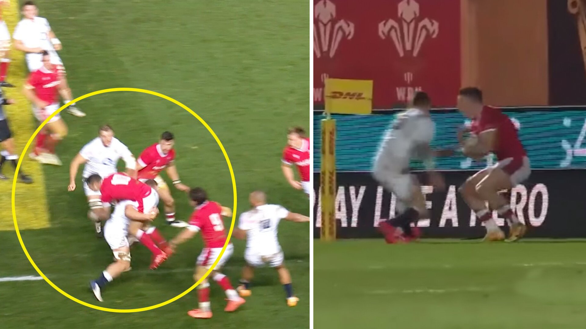 Romain Poite refereeing deemed 'shocking' as England were given far more than Wales in Autumn Nations Cup