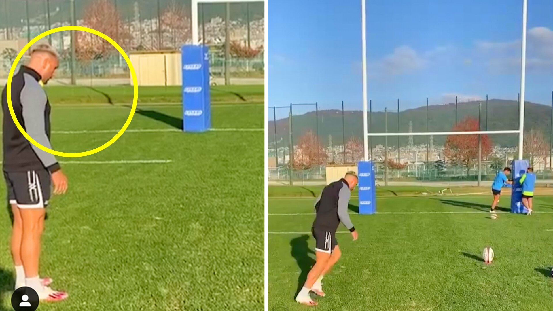 The new Quade Cooper kicking technique which could take rugby by storm
