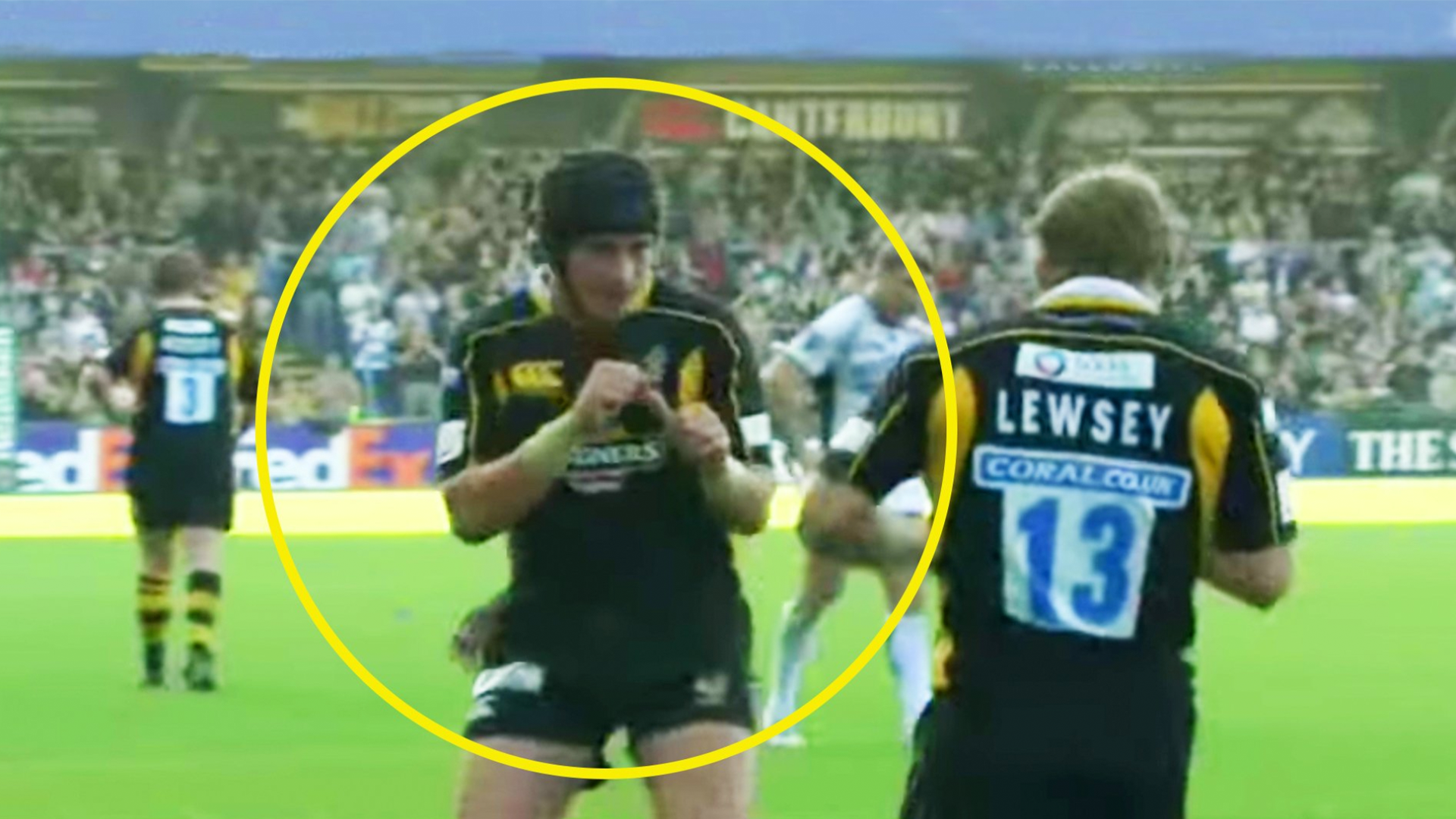 Teammates don't often fight on the rugby field but when they do, it's EXPLOSIVE
