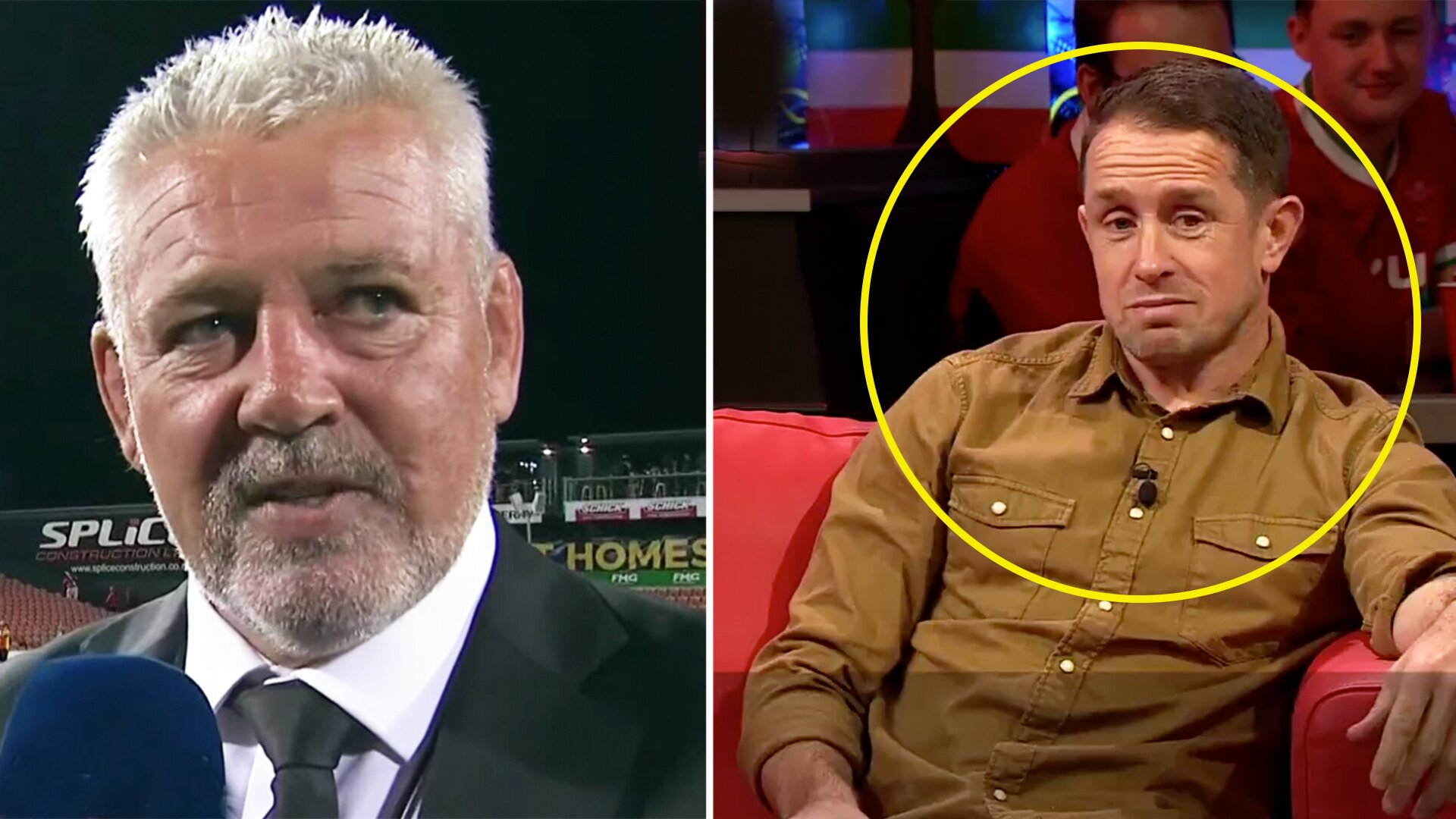 Fans shock after Shane Williams details story of physical confrontation with Warren Gatland at Twickenham in 2008