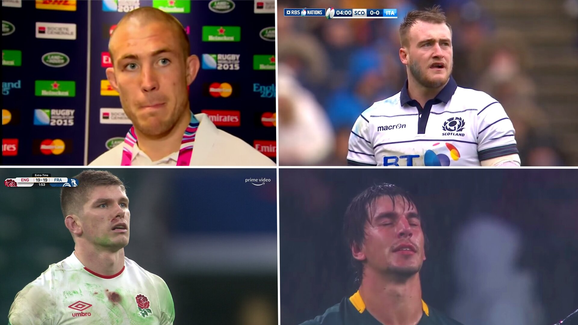 The biggest player snubs from the World rugby team of the decade