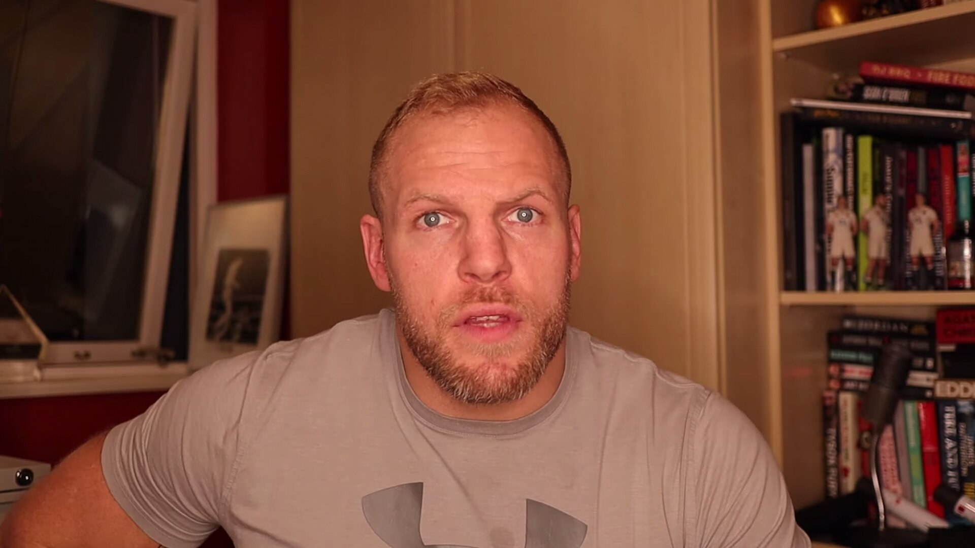 Former rugby star James Haskell has just published a full blown rant online