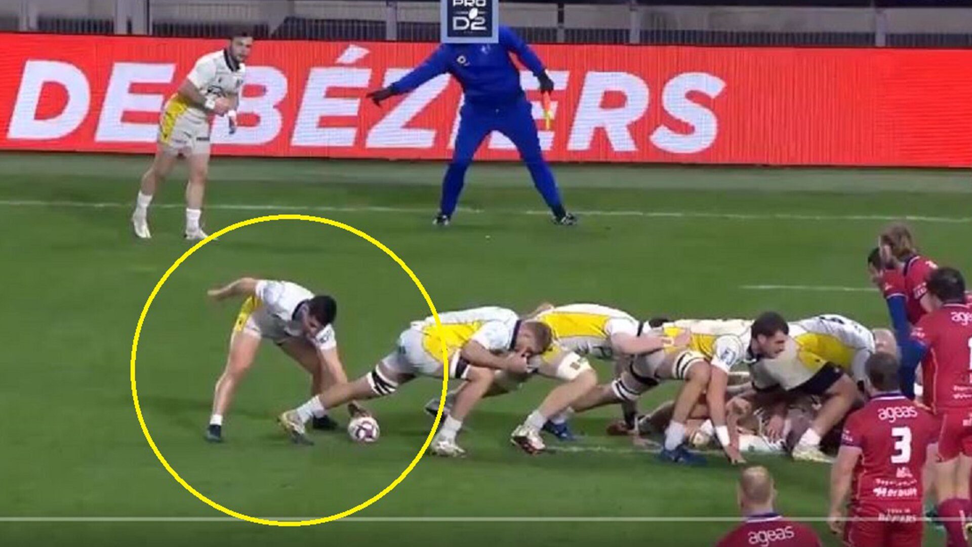 Caterpillar rucking technique backfires horribly in the ProD2