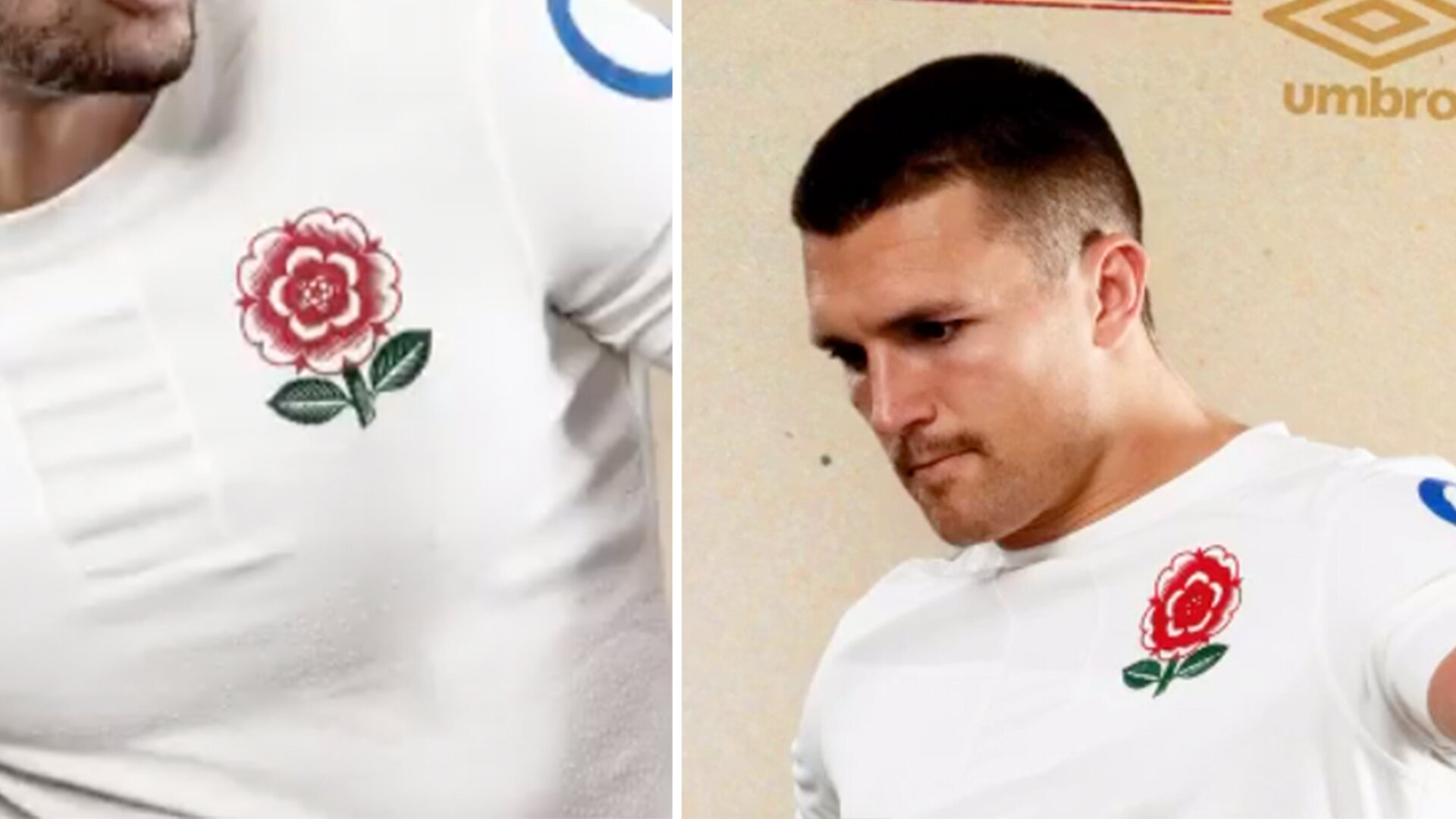 Rugby fans amazed as England rugby completely overhaul their shirt design for Six Nations