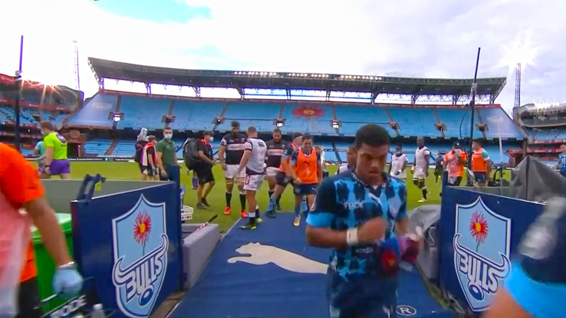 Players rushed off the field in Currie Cup final after major incident suspends play