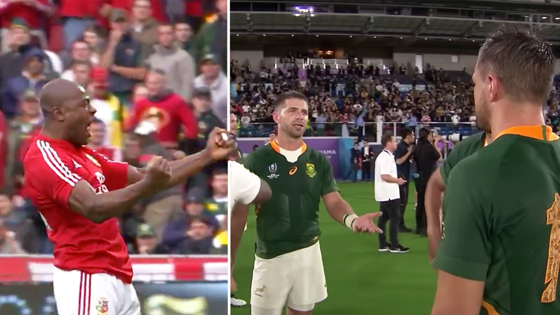 Lions ignite war of words with New Year's message for the Springboks