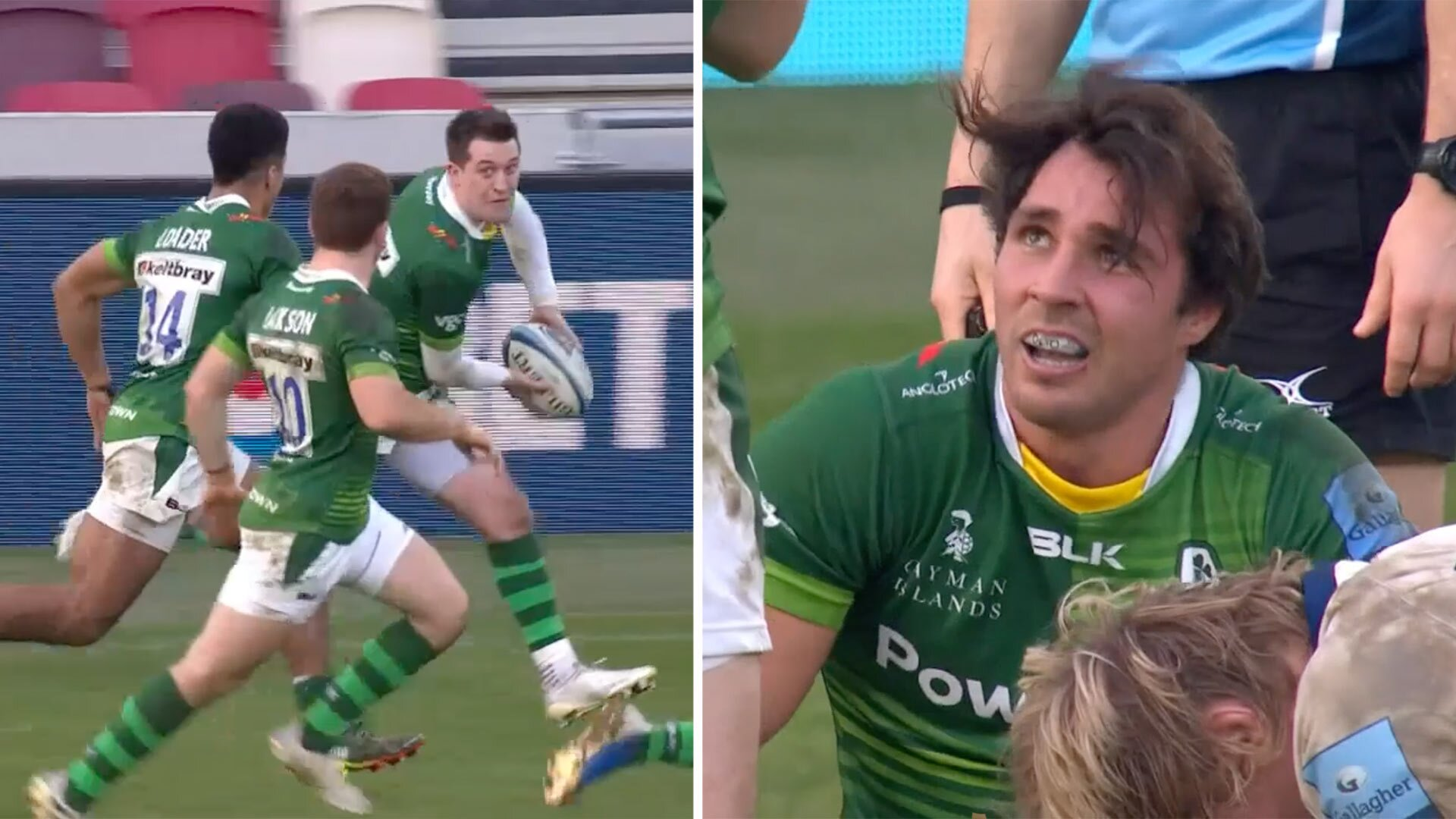 Rugby today witnessed one of the worst botched tries ever