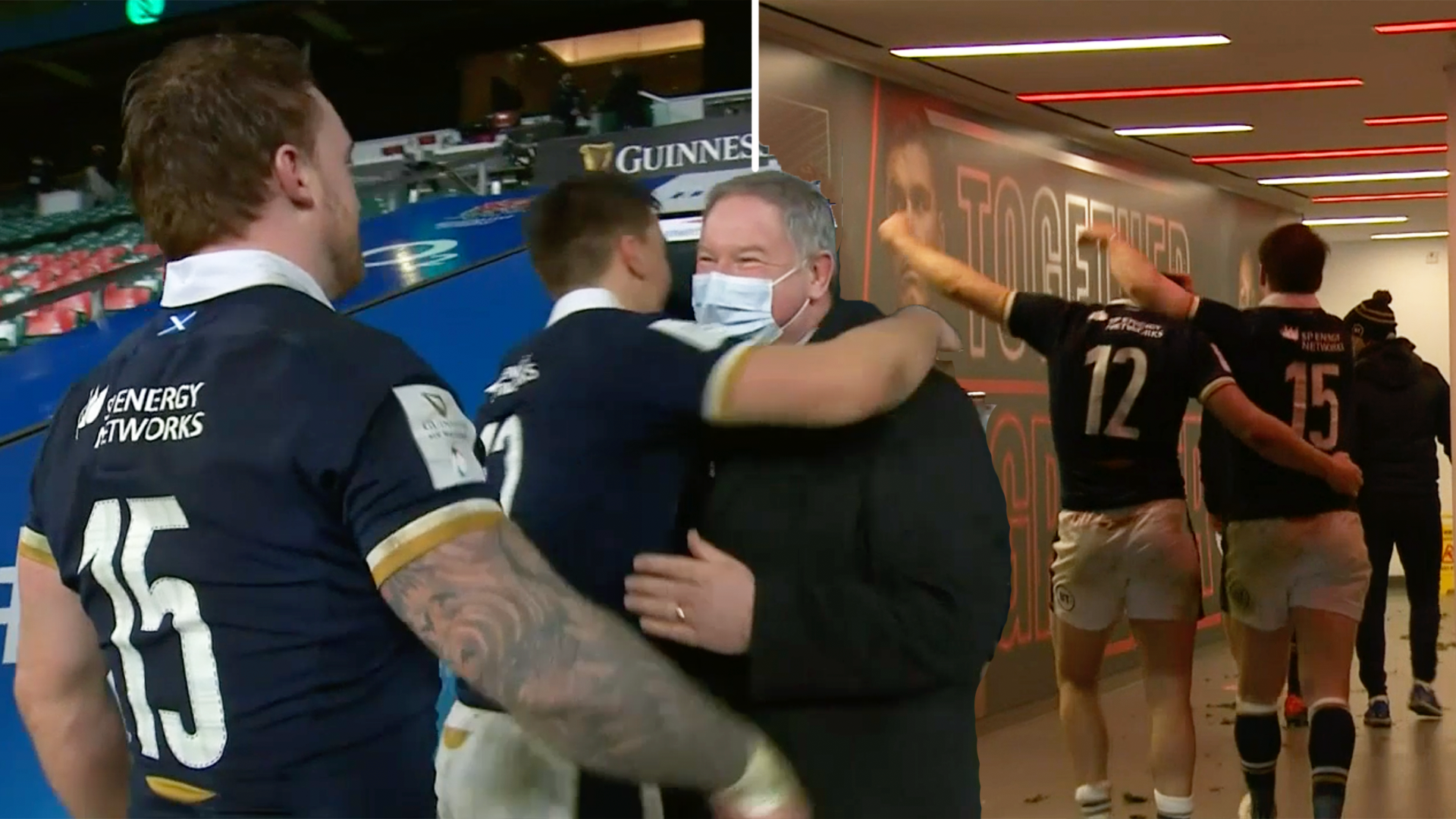 The Stuart Hogg Twickenham tunnel moment that fans can't get enough of