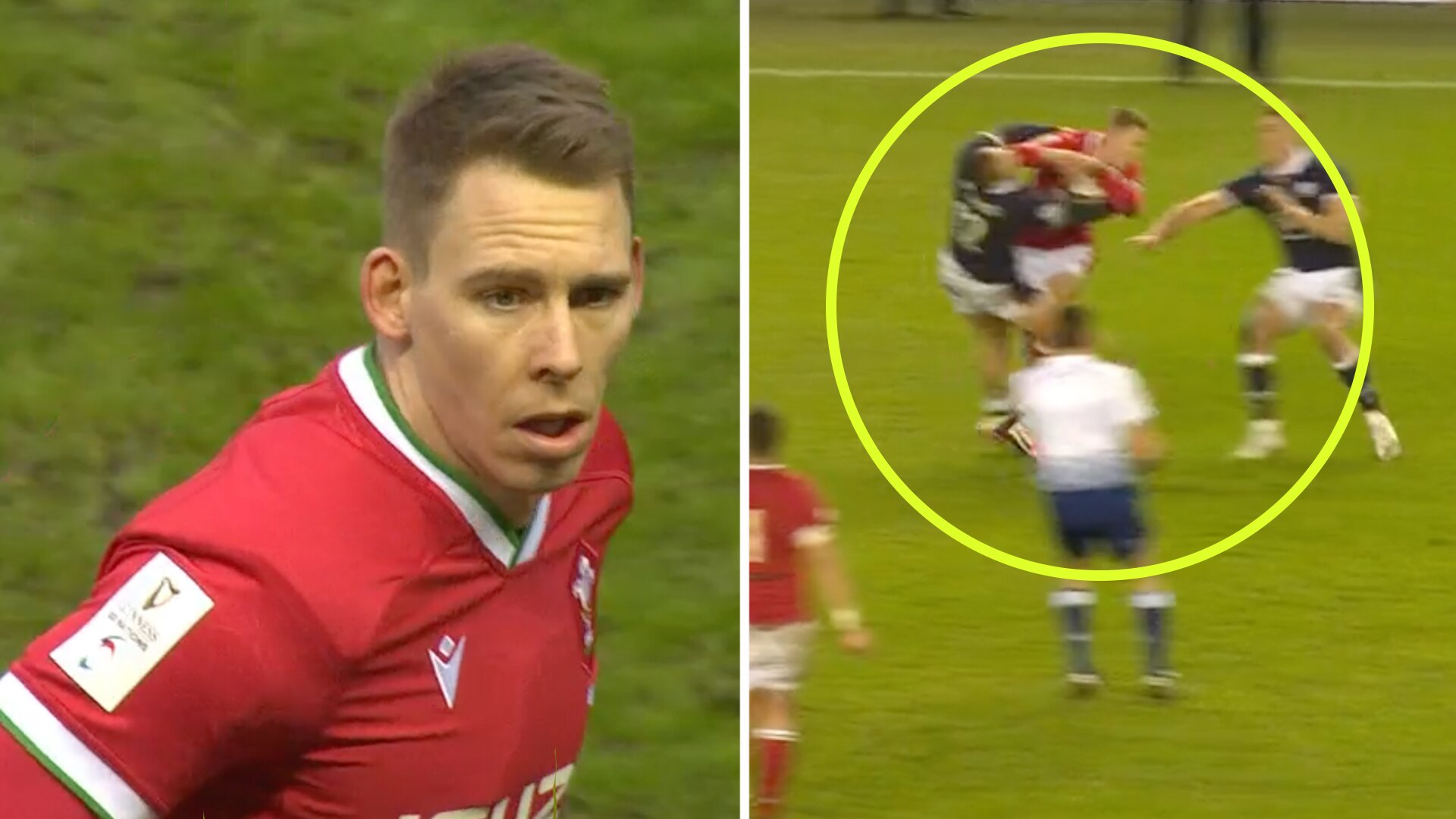 Scotland fans urge Liams Williams cheap elbow shot be investigated in Six Nations