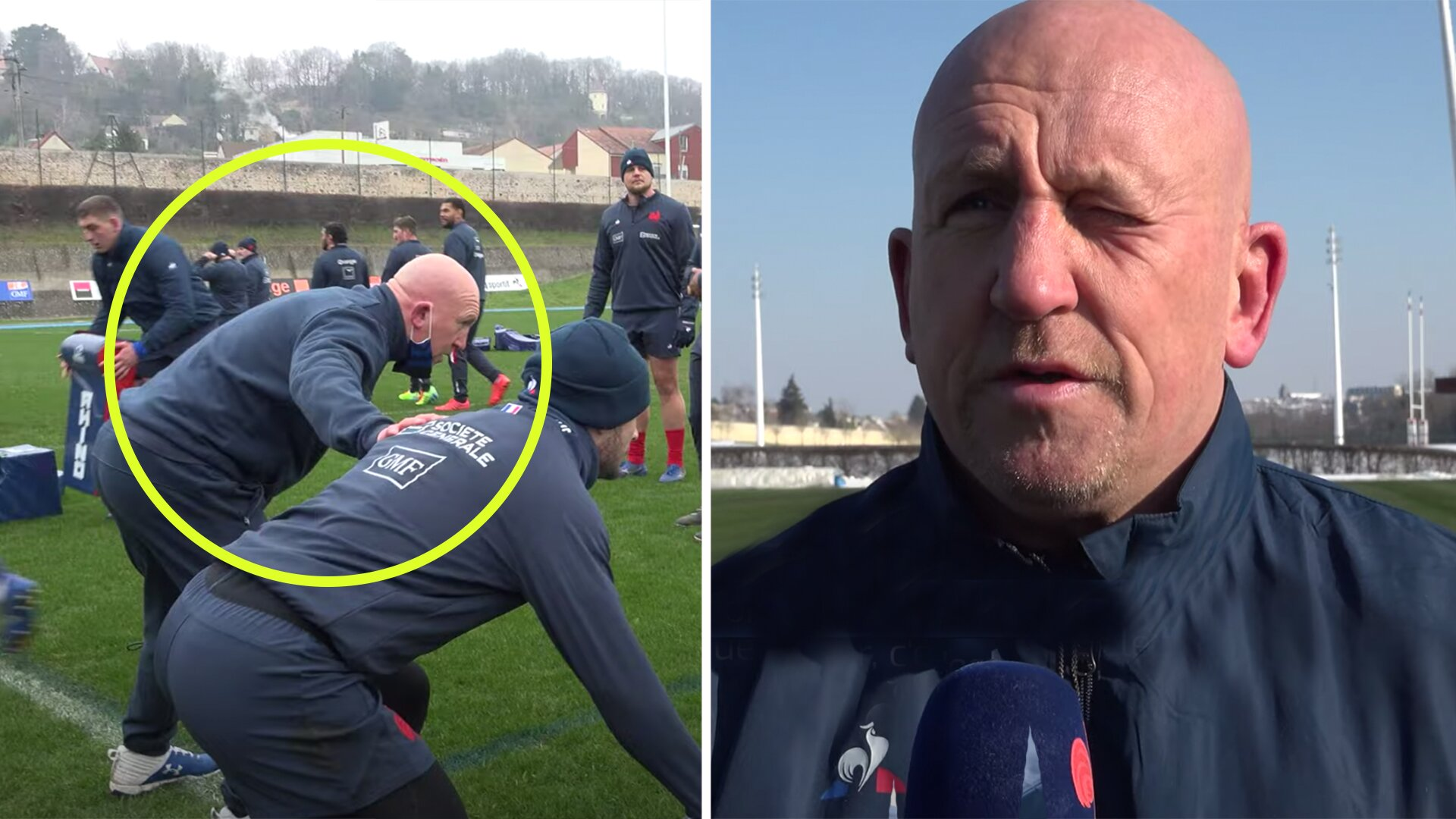 Rugby fans stunned at Shaun Edwards French speaking skills after a year in the country