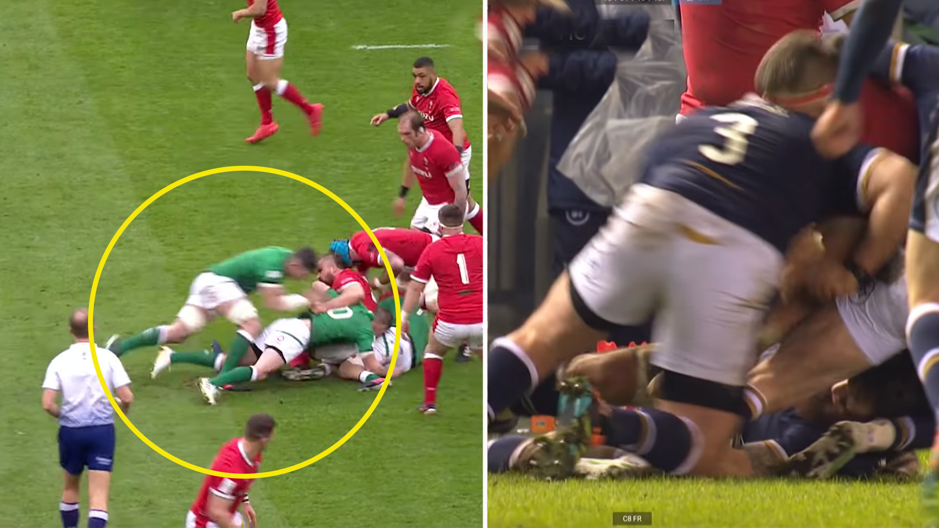 Fans left perplexed as Zander Fagerson recieves longer suspension than Peter O'Mahony for Six Nations red card