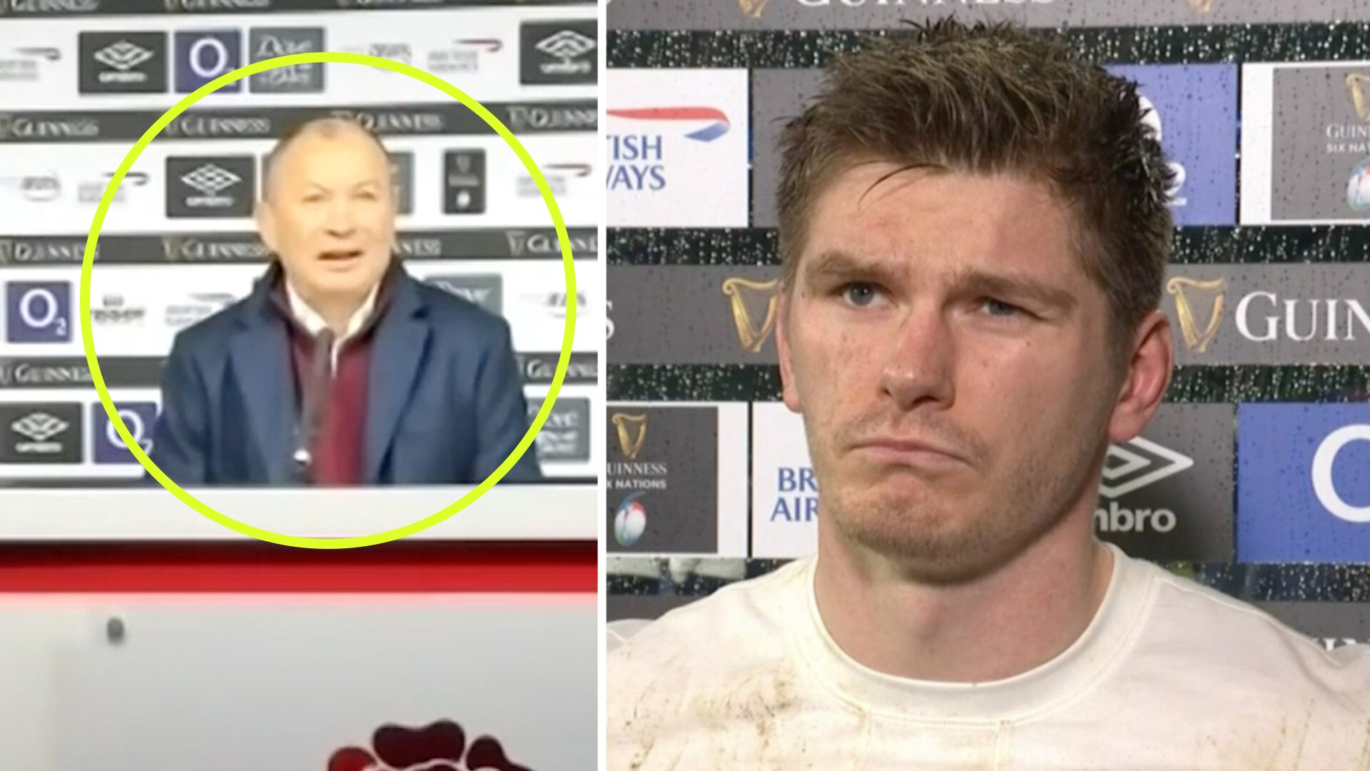 Eddie Jones gets angry at the media after shock loss to Scotland in Six Nations