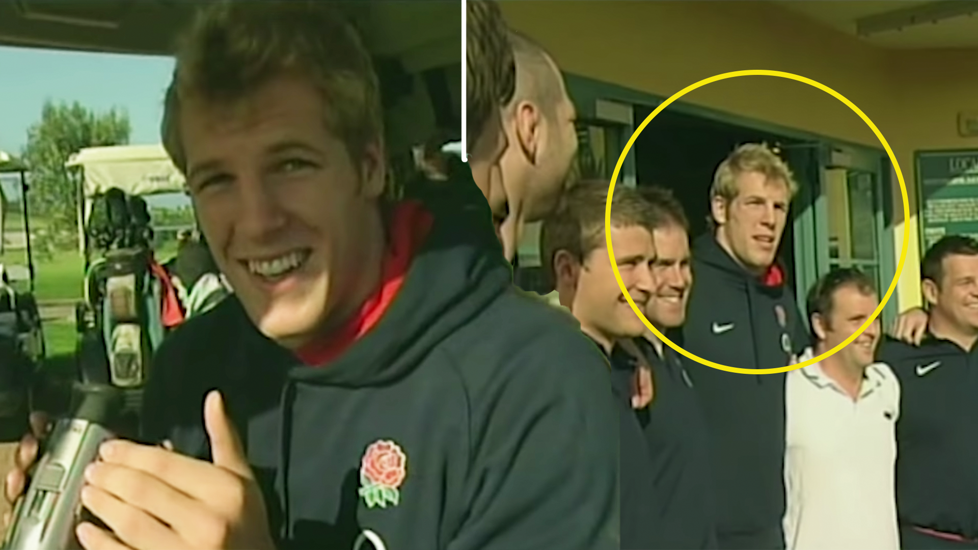 New England Rugby footage emerges showing a young James Haskell tormenting his teammates