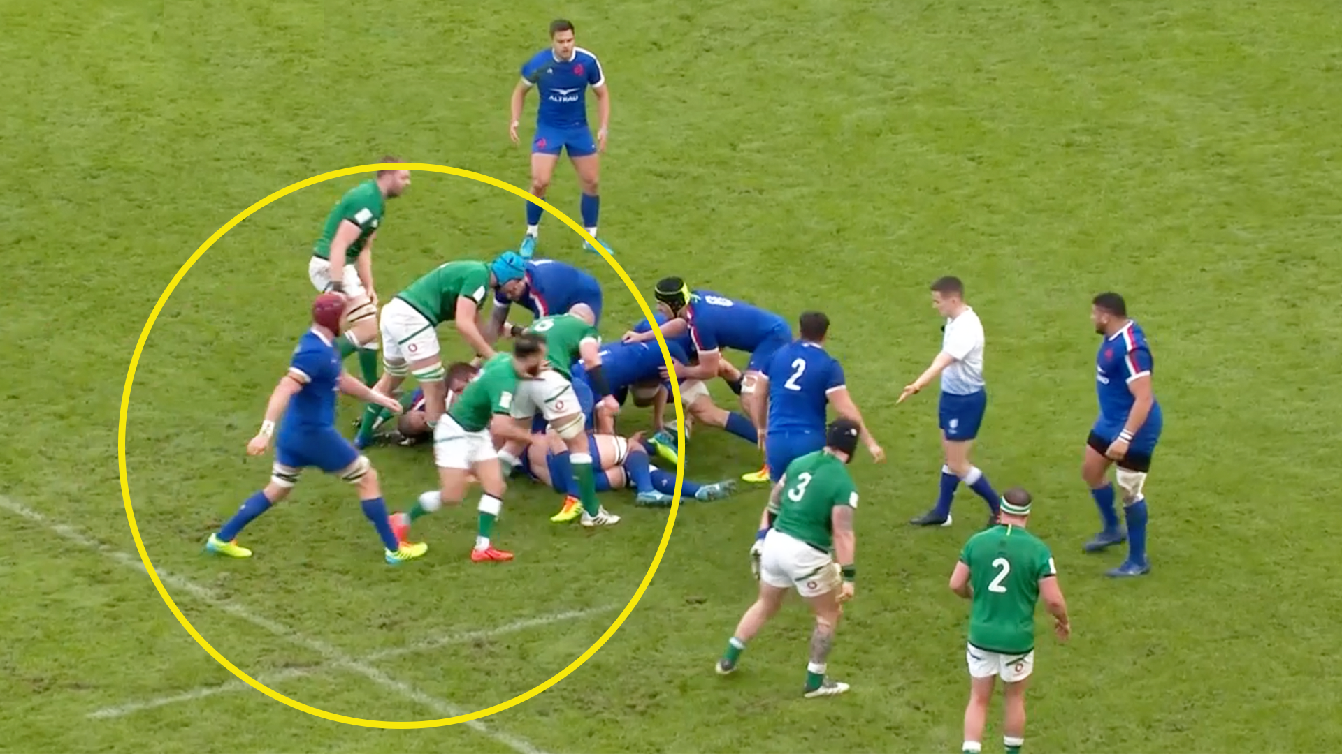 Furious backlash as France rugby player avoids red card for SECOND trip attempt in Six Nations clash