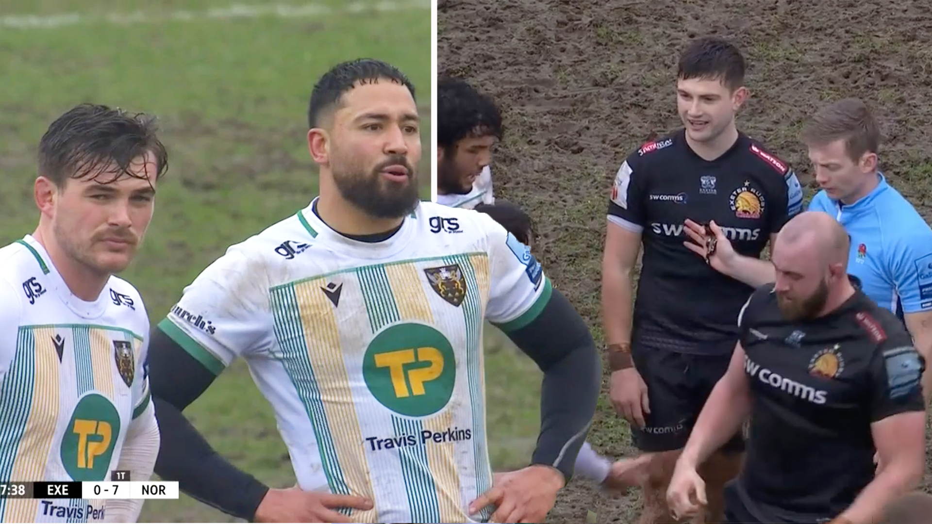 Everyone is saying the same thing about the game at Exeter Chiefs today