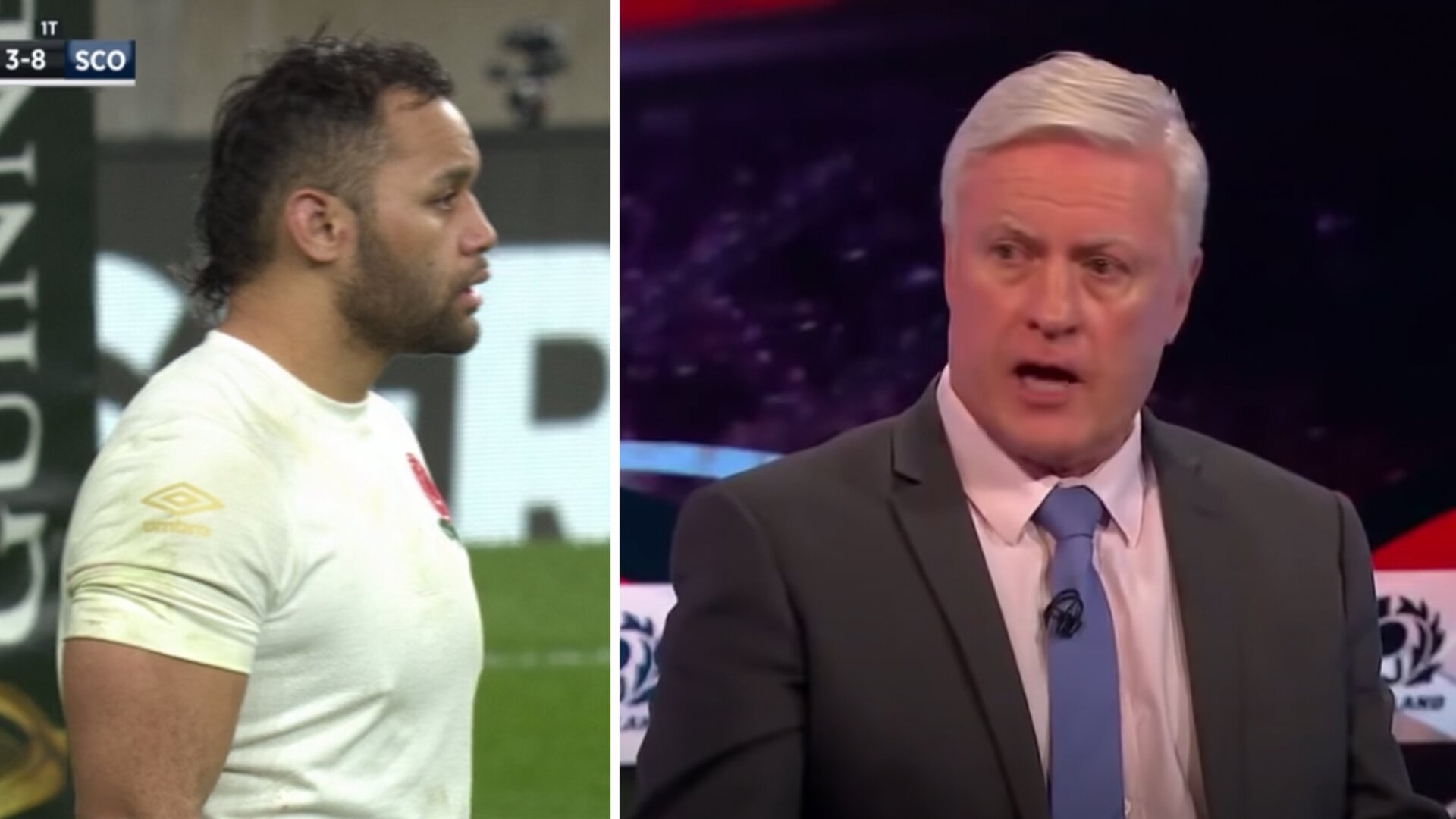 """""""You'd swear he was in a pub"""" - Irish pundits go IN on England and Billy Vunipola"""