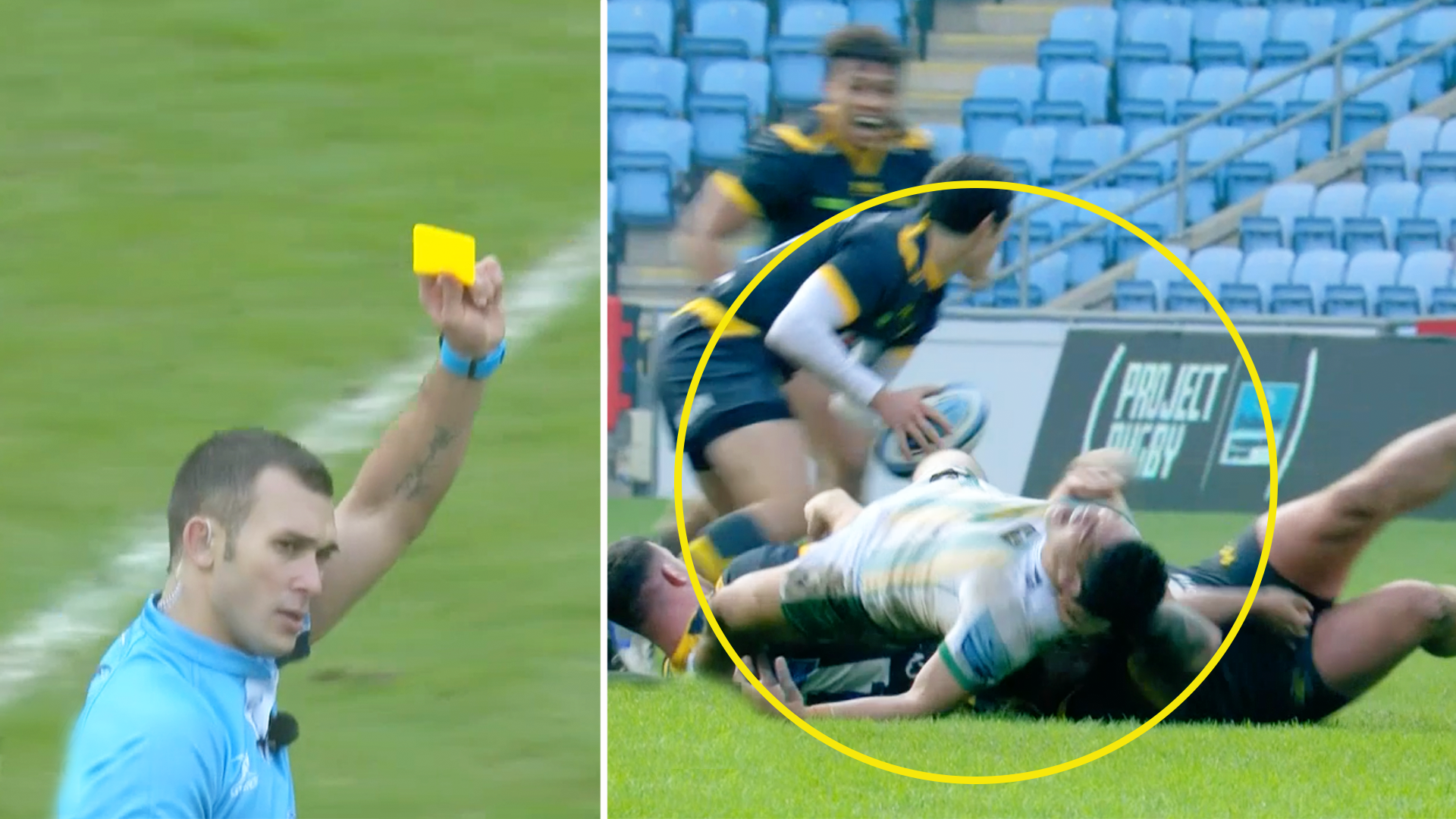 'Dirty' Wasps shown two yellow cards in first half implosion against Northampton Saints