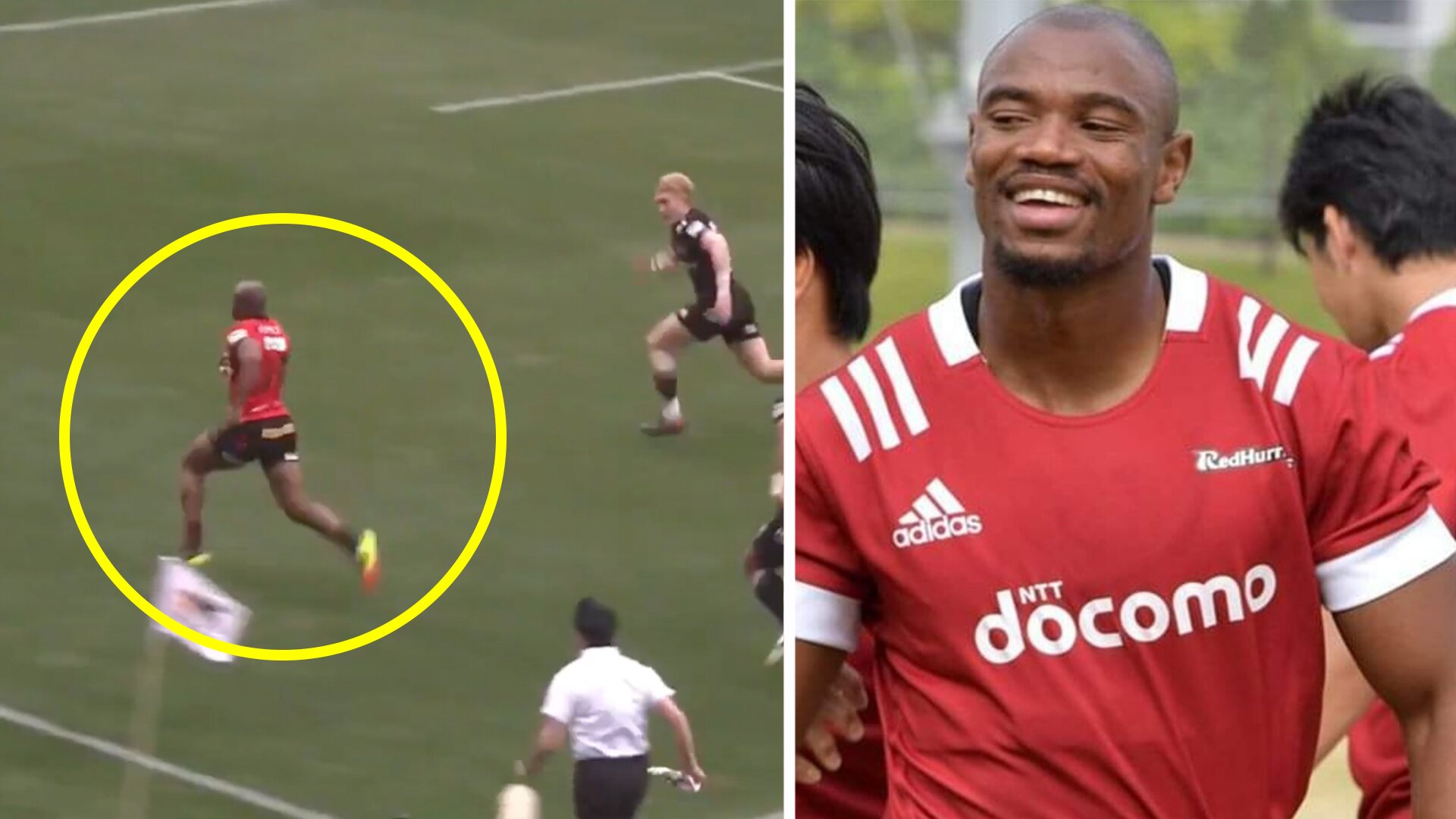 Makazole Mapimpi reminds world why he is is one of the world's best wingers with Top League debut