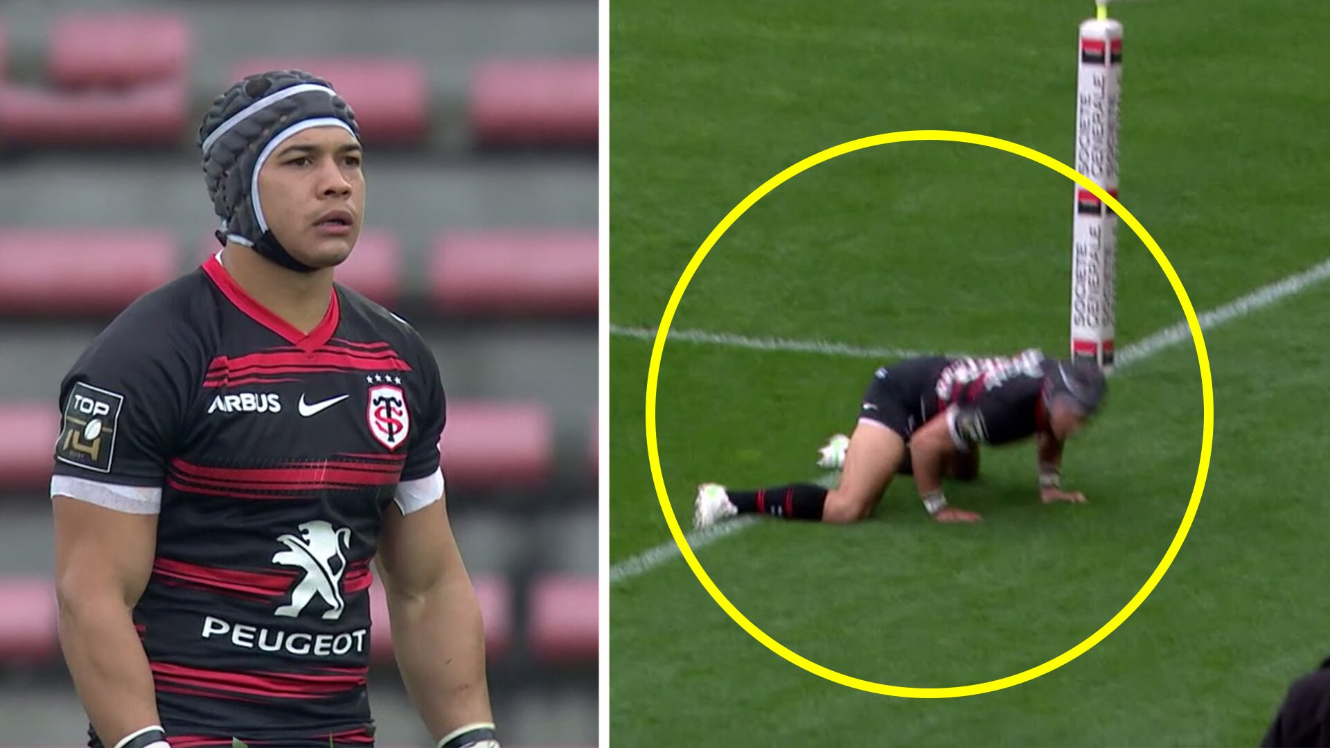 Calls for Cheslin Kolbe to become Defence Lawyer after he escapes impossible situation for Toulouse