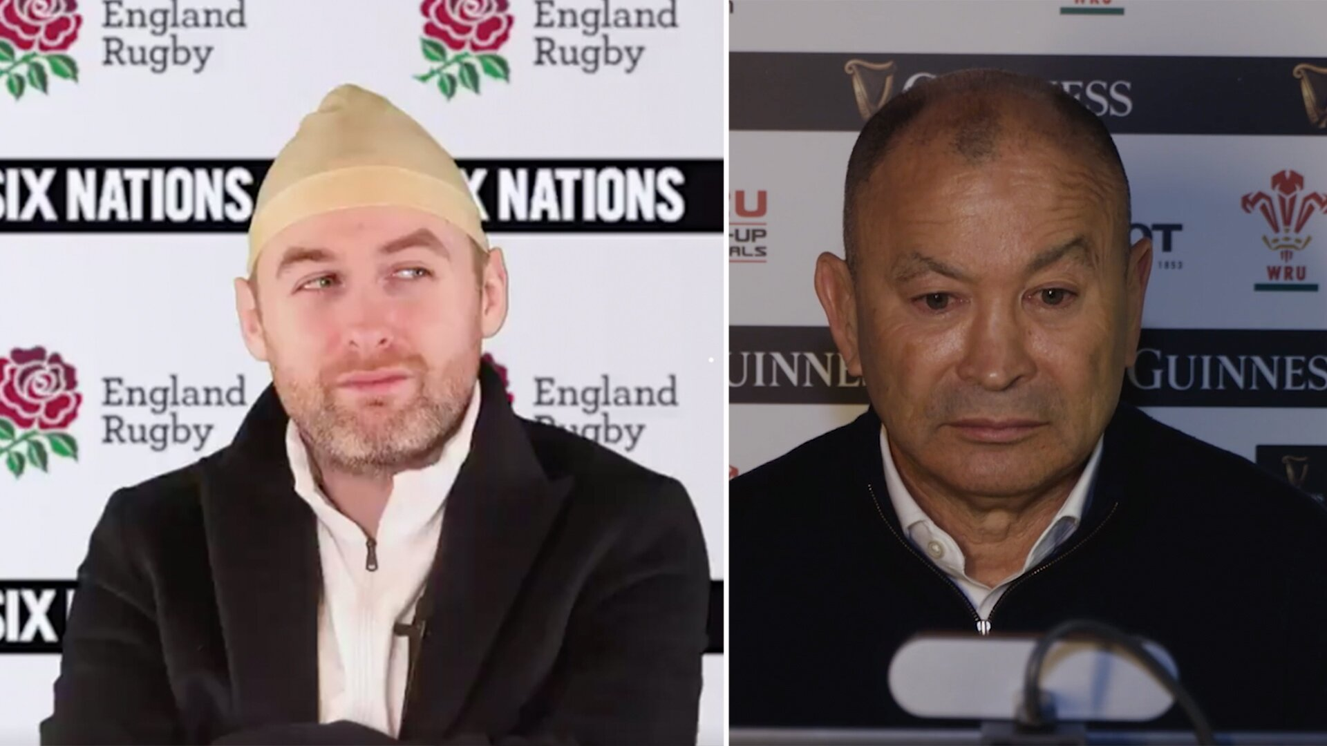 An Irish comedian is going super viral with his impression of England rugby coach Eddie Jones
