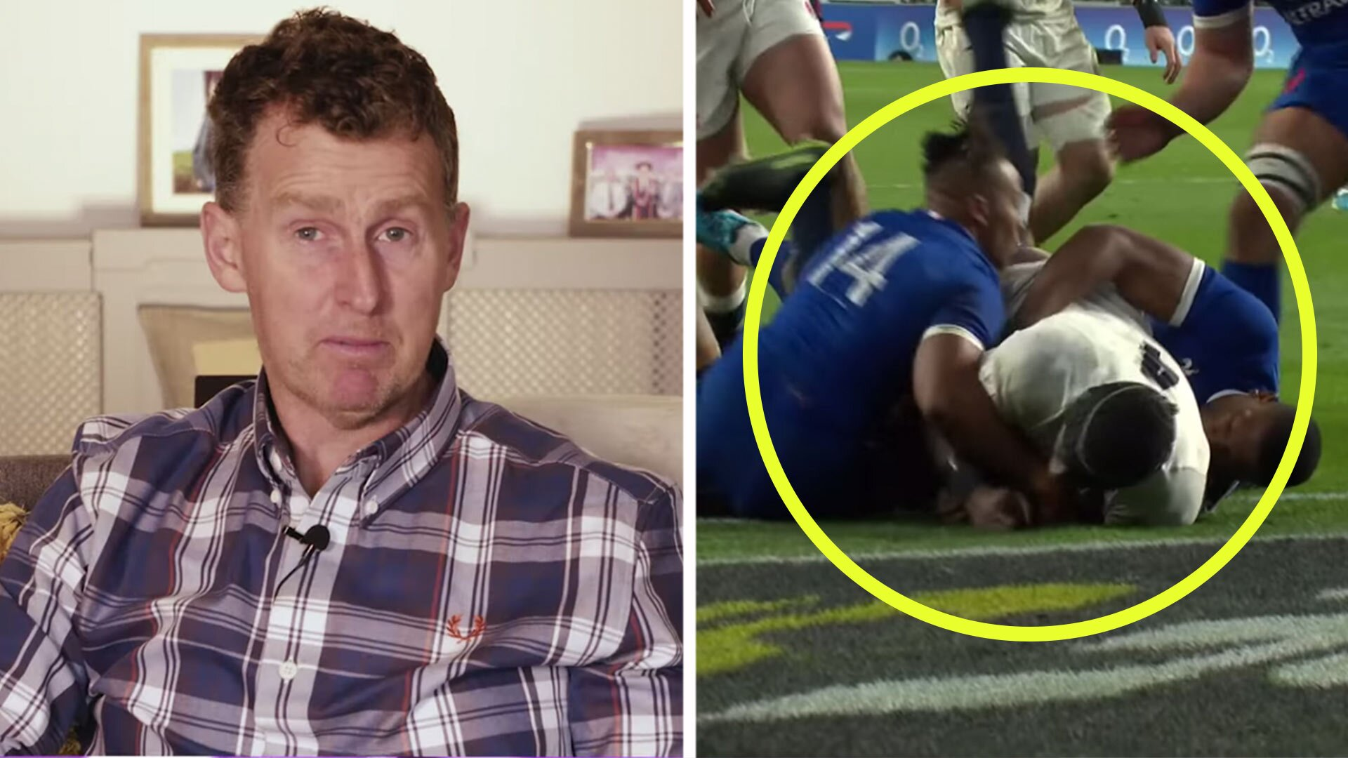 Nigel Owens gives his take on whether Maro Itoje try should have been given