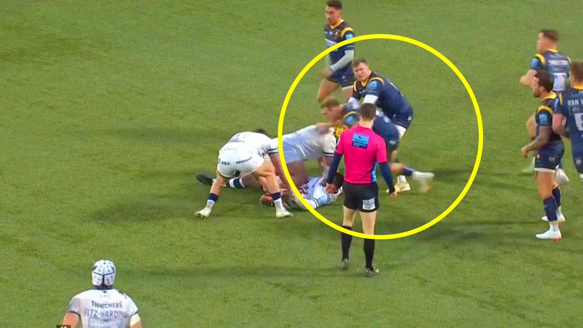 Chris Ashton in hot water as footage shows him potentially faking injury
