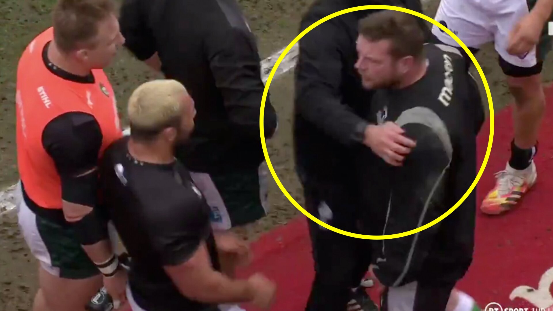 Ellis Genge back in firing line as footage shows bust up before Leicester Tigers match