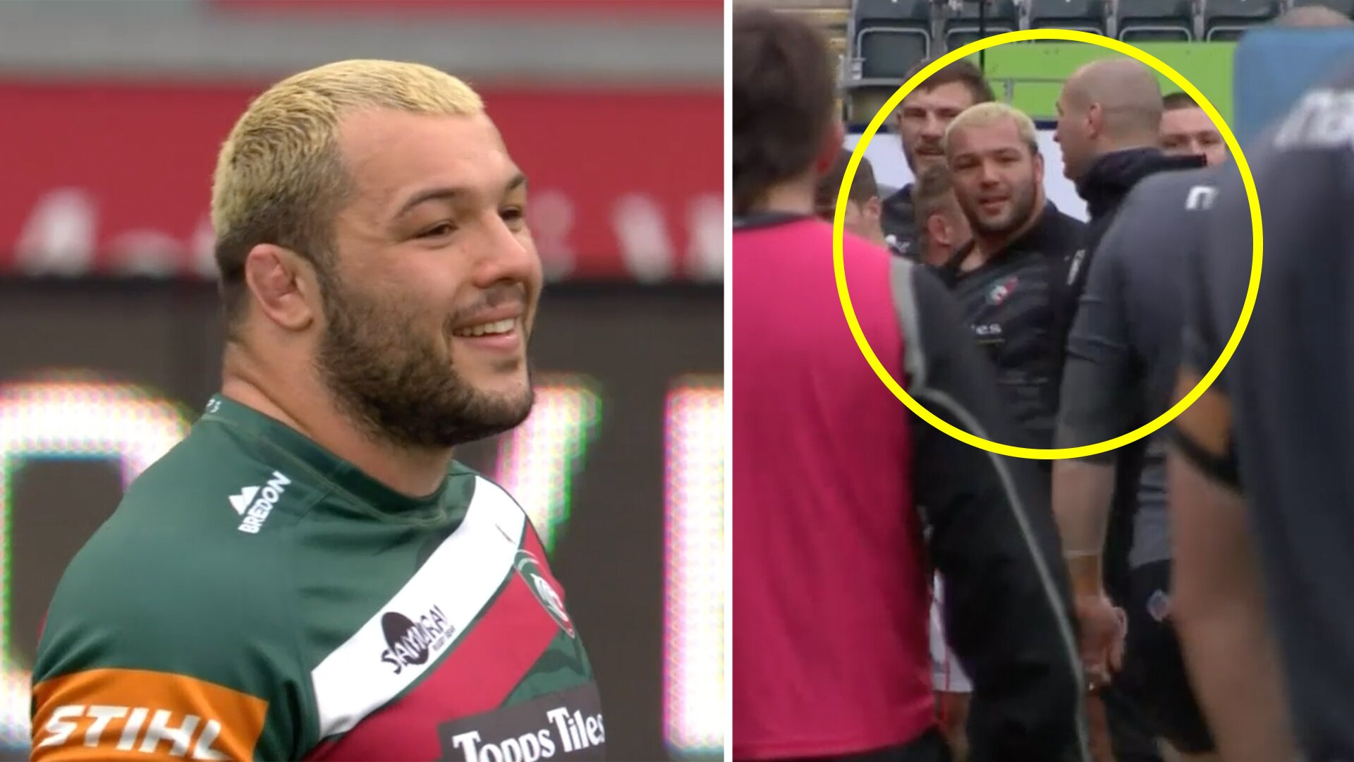 Fan gives story about Ellis Genge which sums up what he is really like off camera