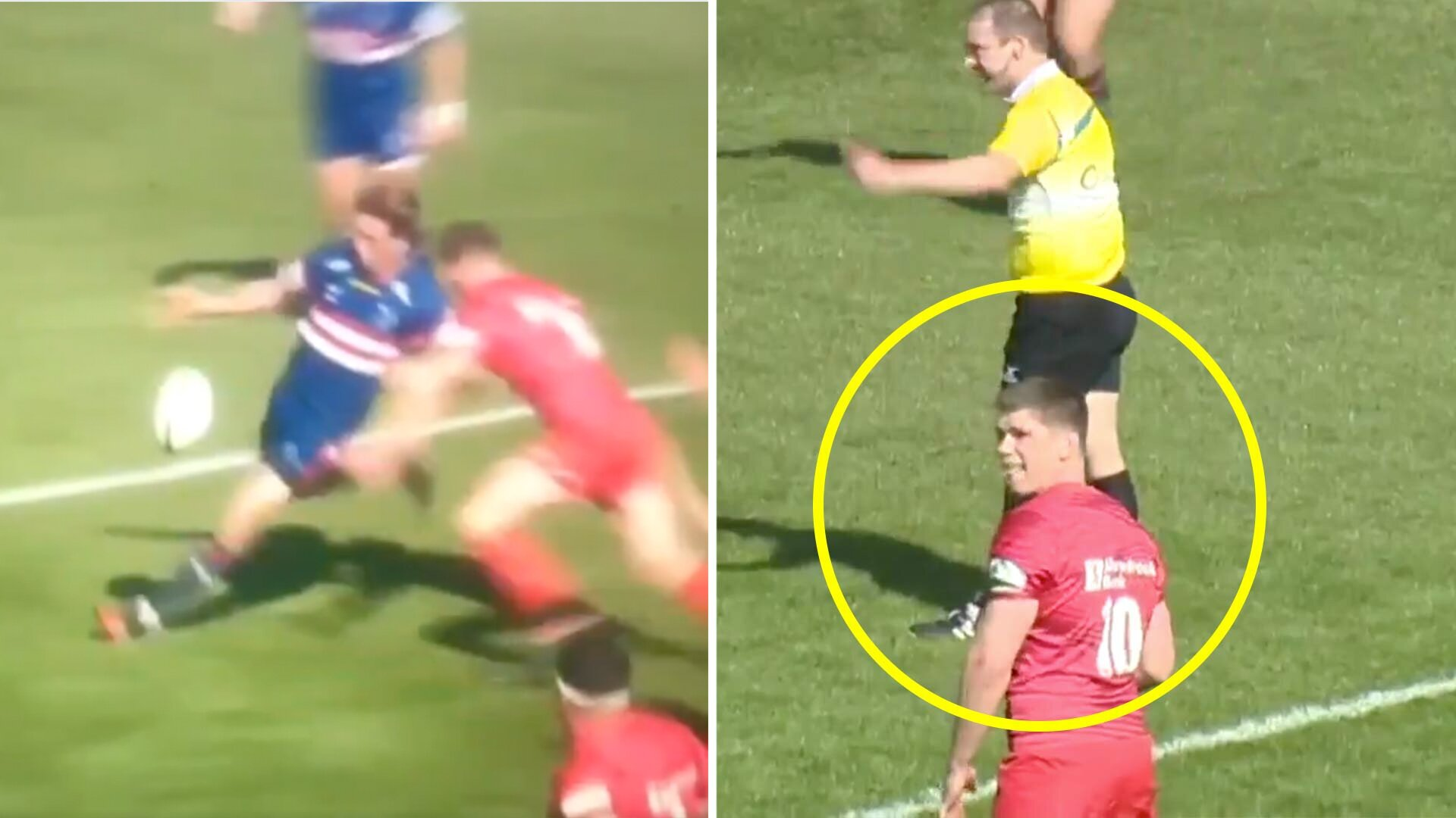 Owen Farrell in spotlight again after he avoids Championship rugby red card