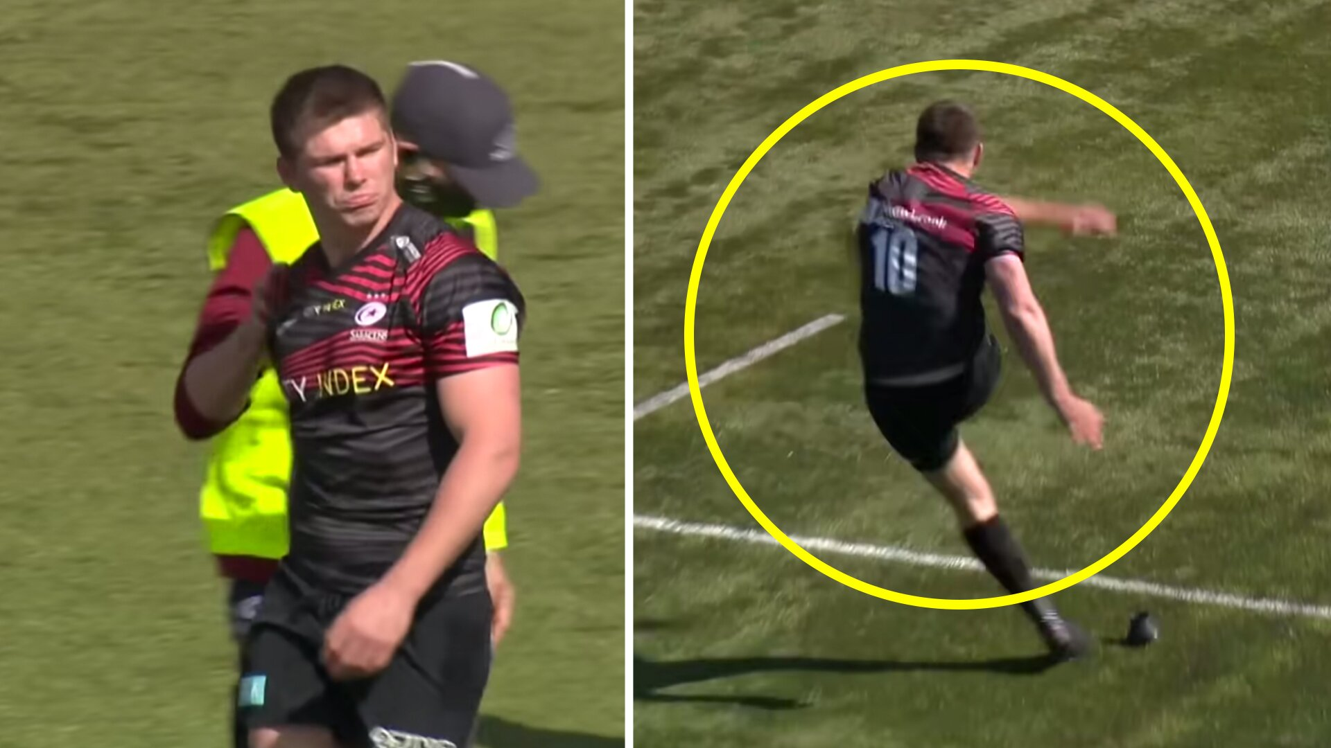 Saracens are showing no mercy at all to their Championship opponents