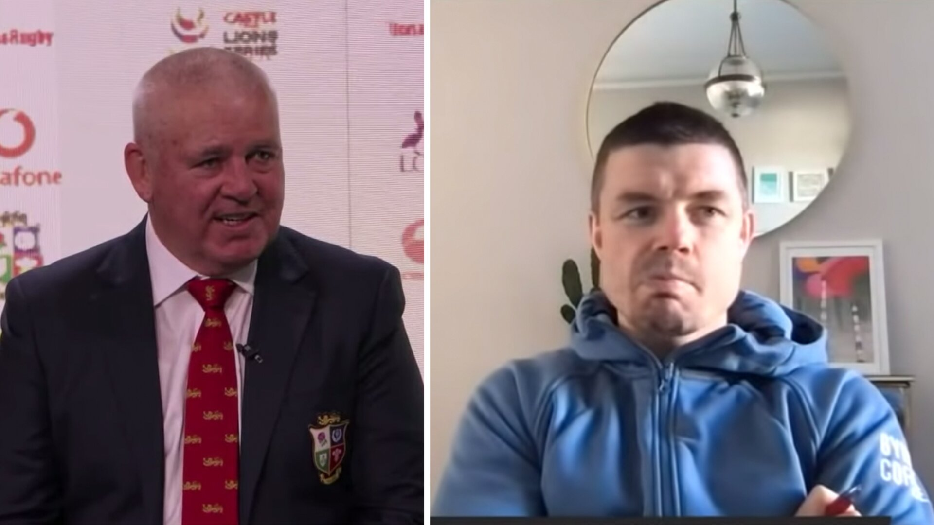 Brian O'Driscoll makes thinly veiled digs at Scotland rugby players in bizarre Lions squad reaction