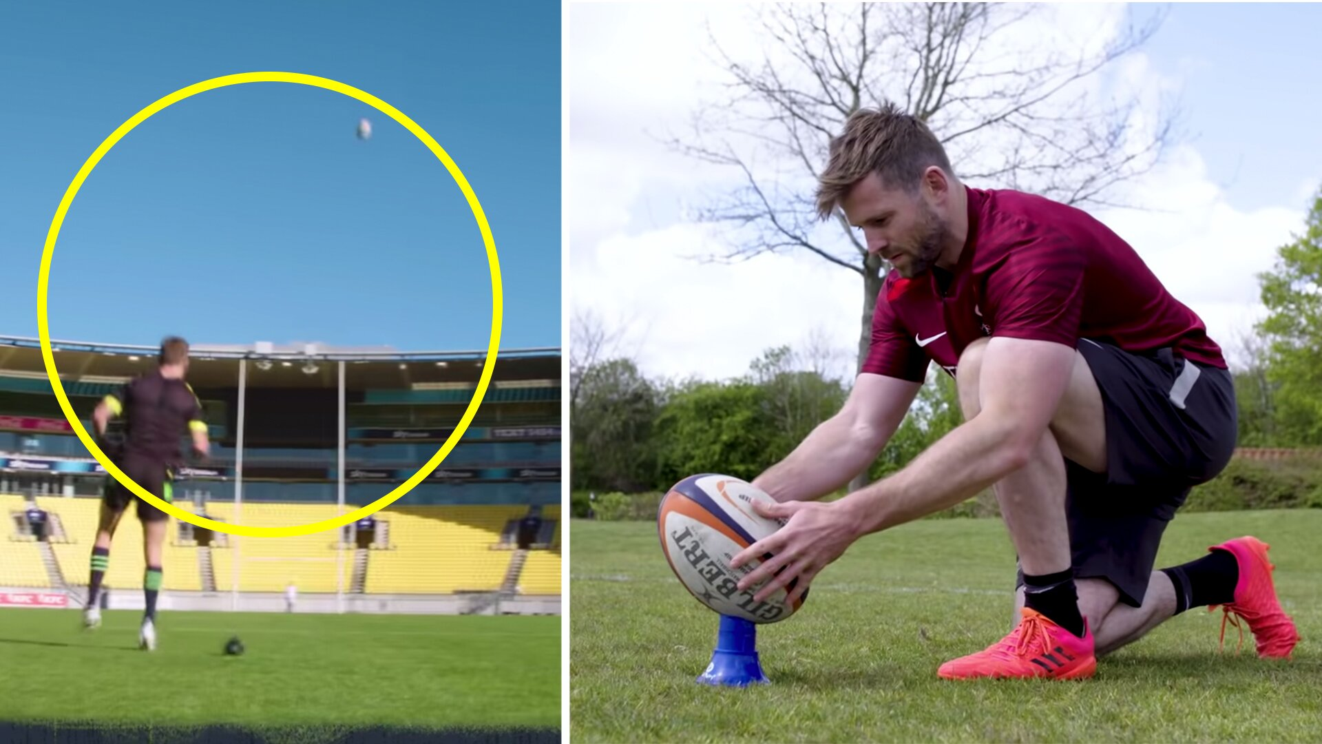Barrett and Daly attempt to break Thorburn's longest rugby kick record