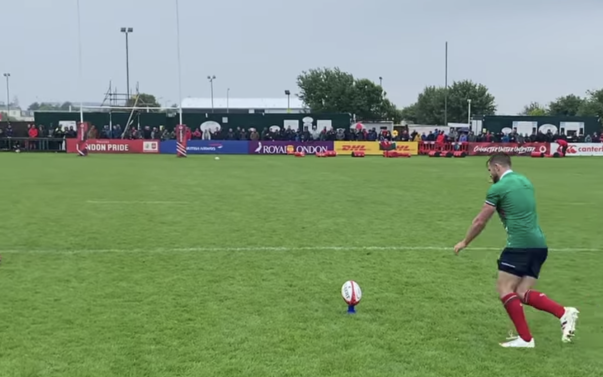 Lions kicker looks ready to inflict same pain on Springboks as he did on the All Blacks