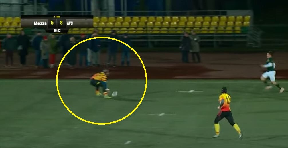 Think leading with the elbow shouldn't be a red? Watch this Russian clip