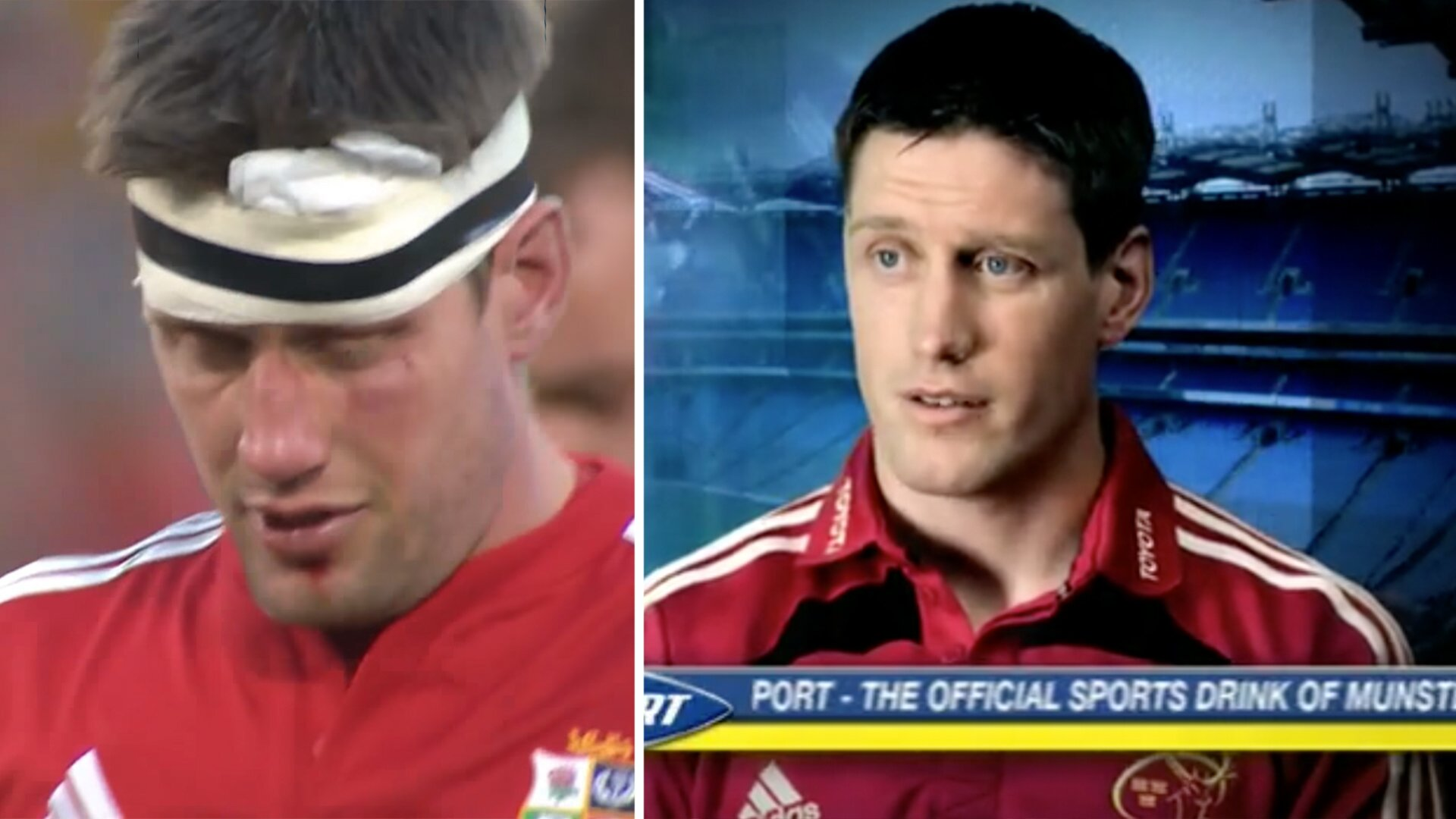 Old video is found of Ronan O'Gara appearing in hugely unfortunate Lucozade ad